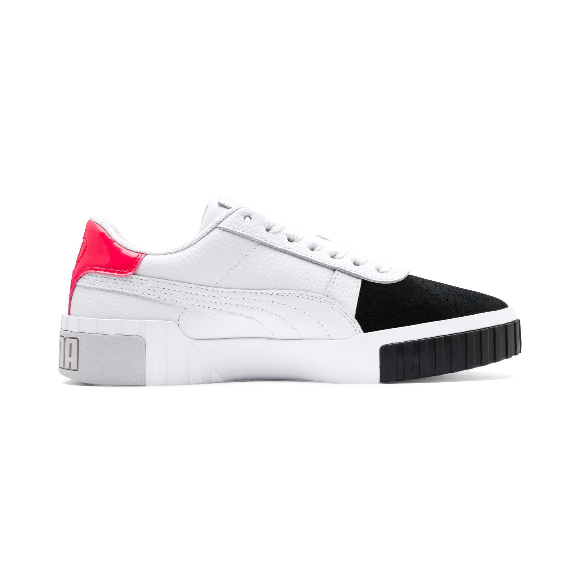 Thumbnail 6 of Cali Remix Women's Sneakers, Puma White-Puma Black, medium