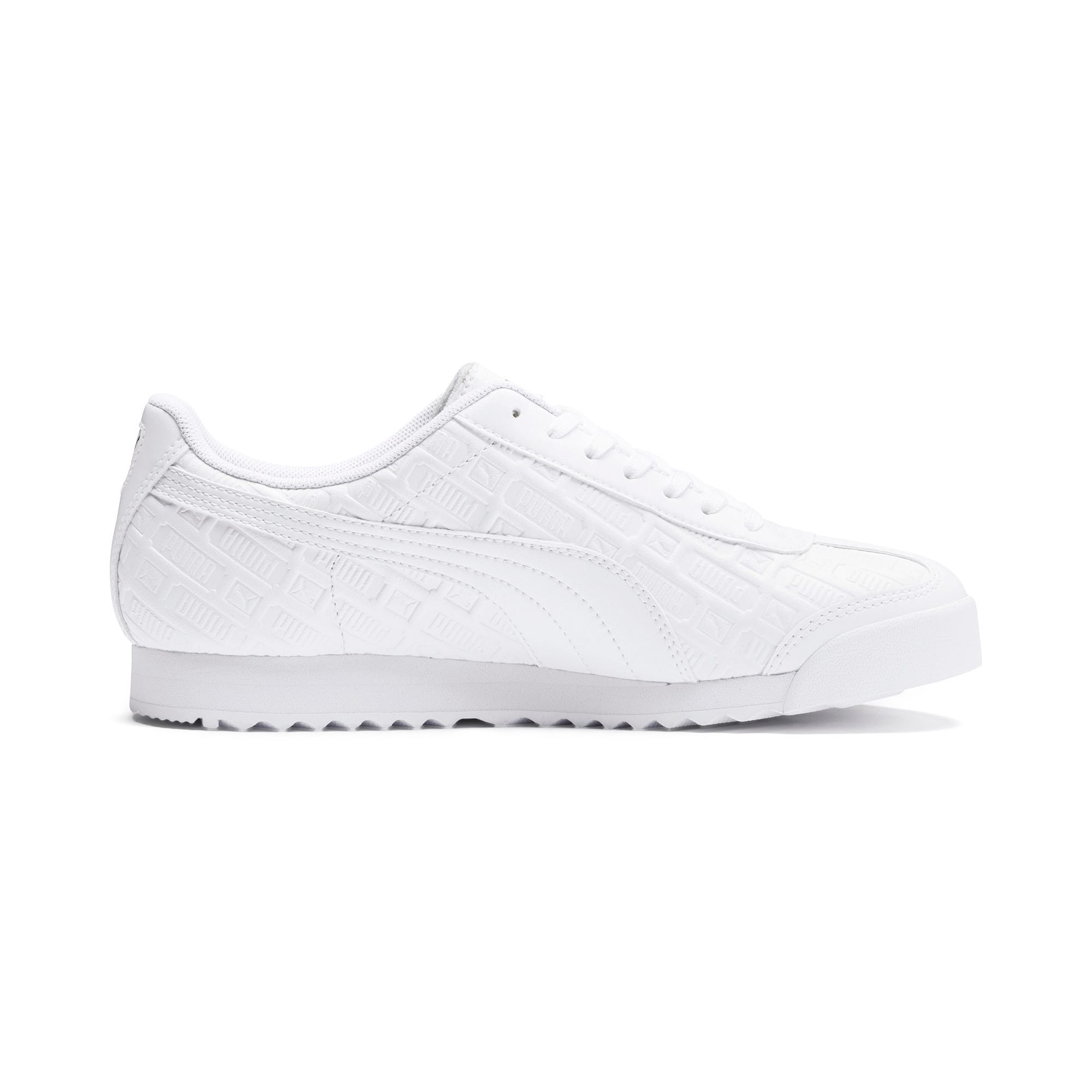 Thumbnail 6 of Basket Roma Reinvent pour femme, Puma White-Puma Team Gold, medium