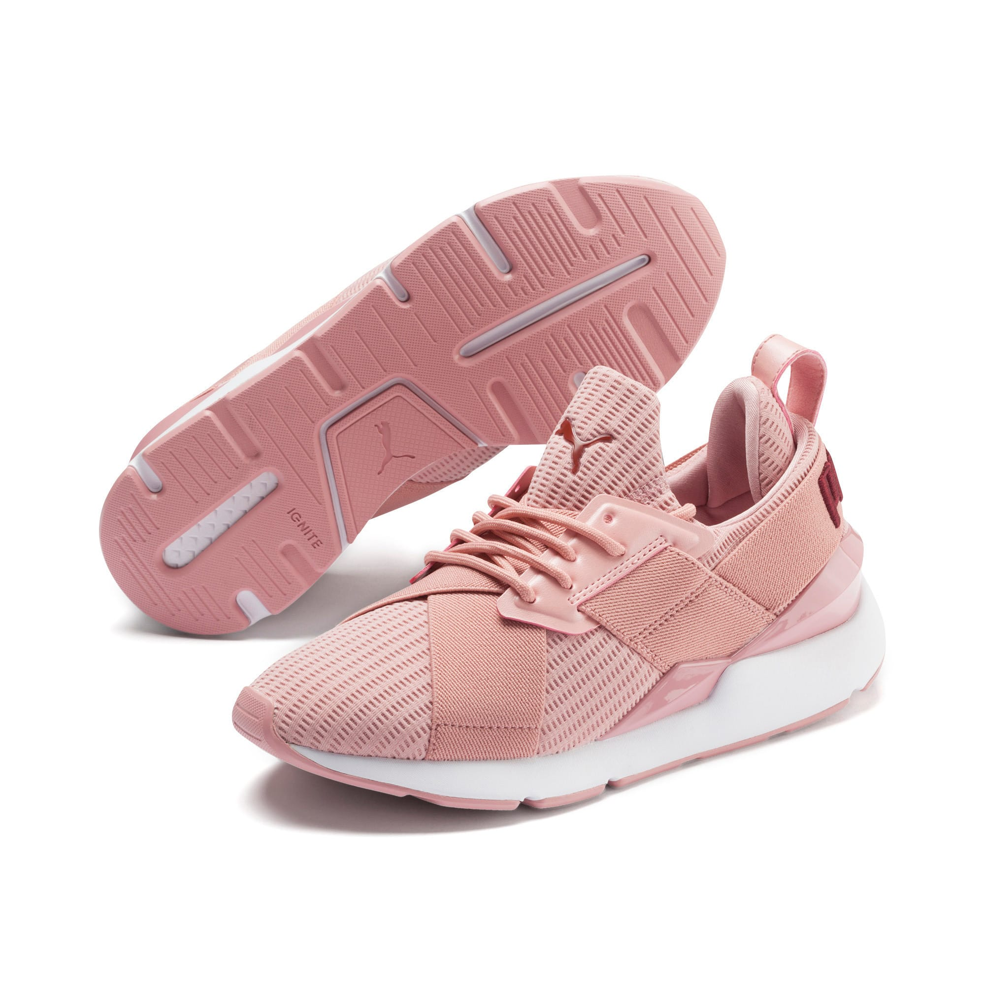 Thumbnail 2 of Muse Core+ Women's Sneakers, Bridal Rose-Fired Brick, medium