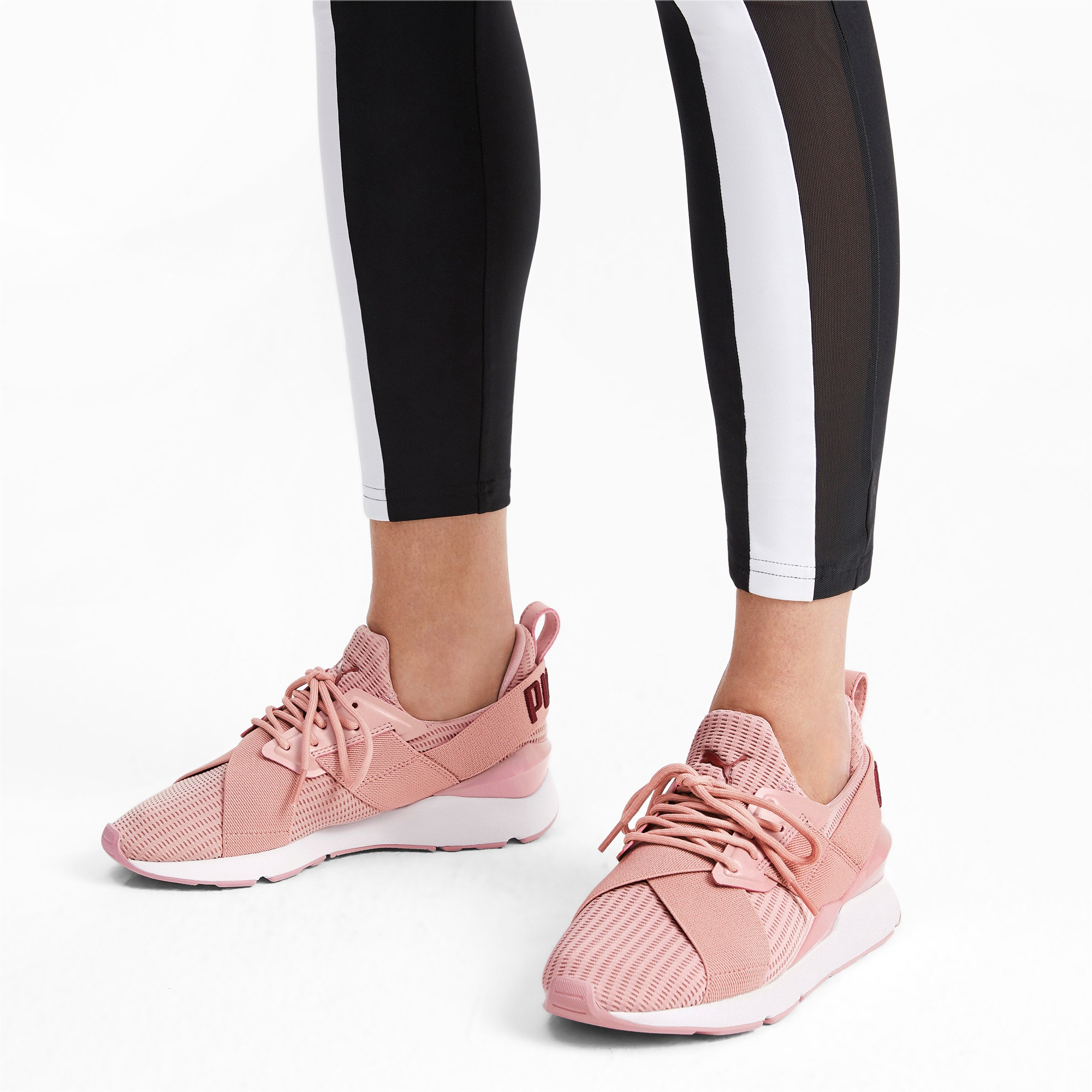 Thumbnail 3 of Muse Core+ Women's Sneakers, Bridal Rose-Fired Brick, medium