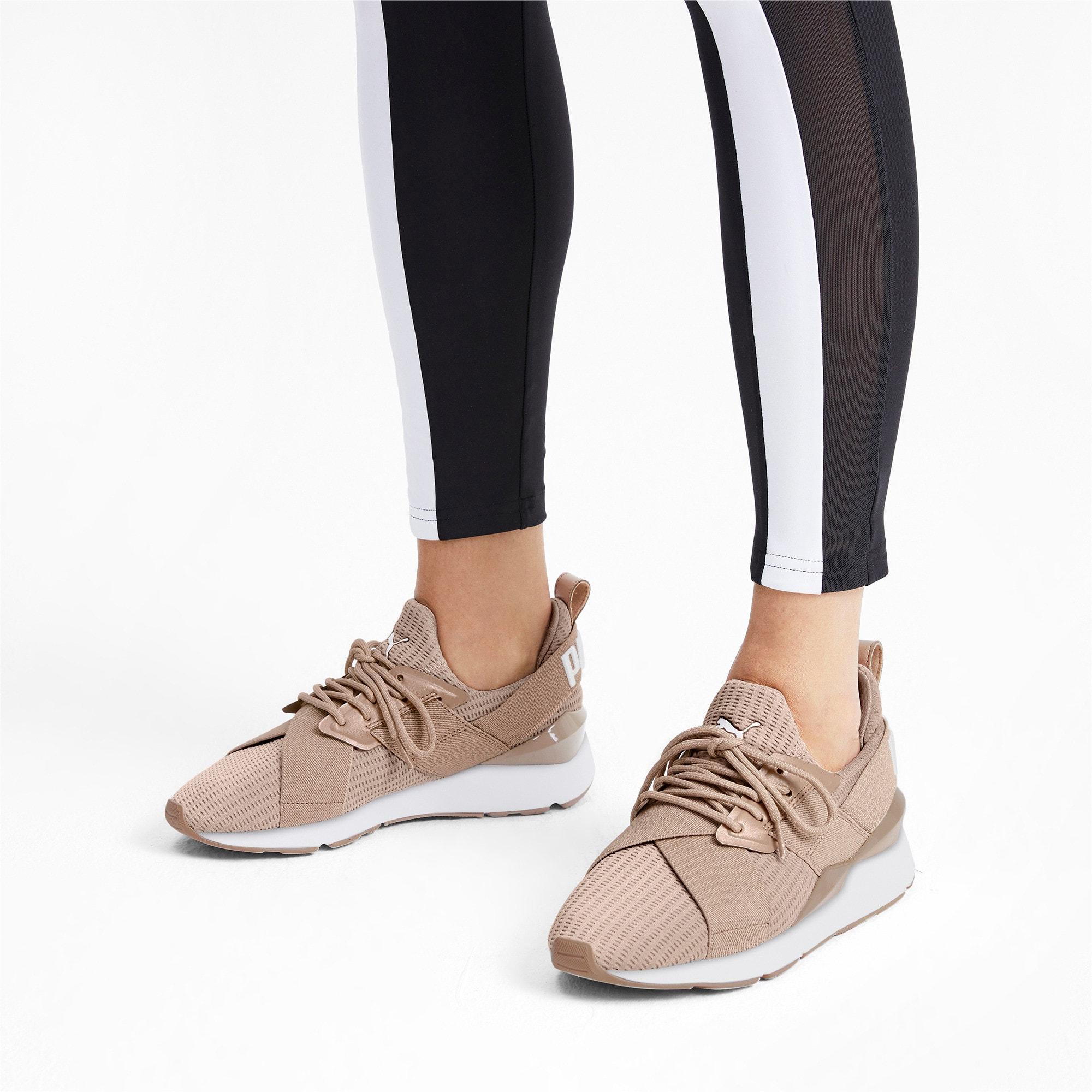 Thumbnail 3 of Muse Core+ Women's Sneakers, Nougat-Pastel Parchment, medium
