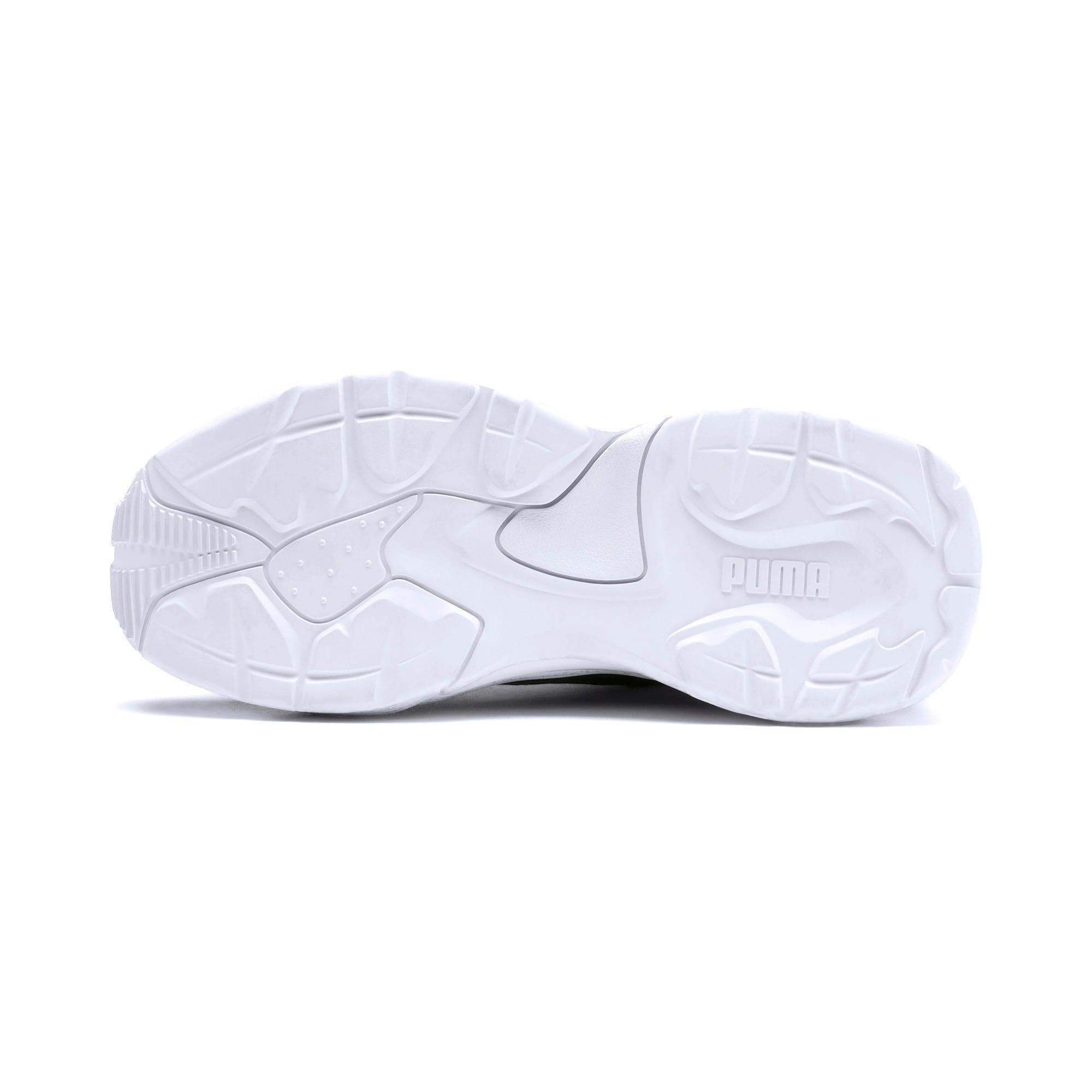 Thumbnail 5 of Thunder Distressed Women's Sneakers, Ebony-Puma Silver, medium