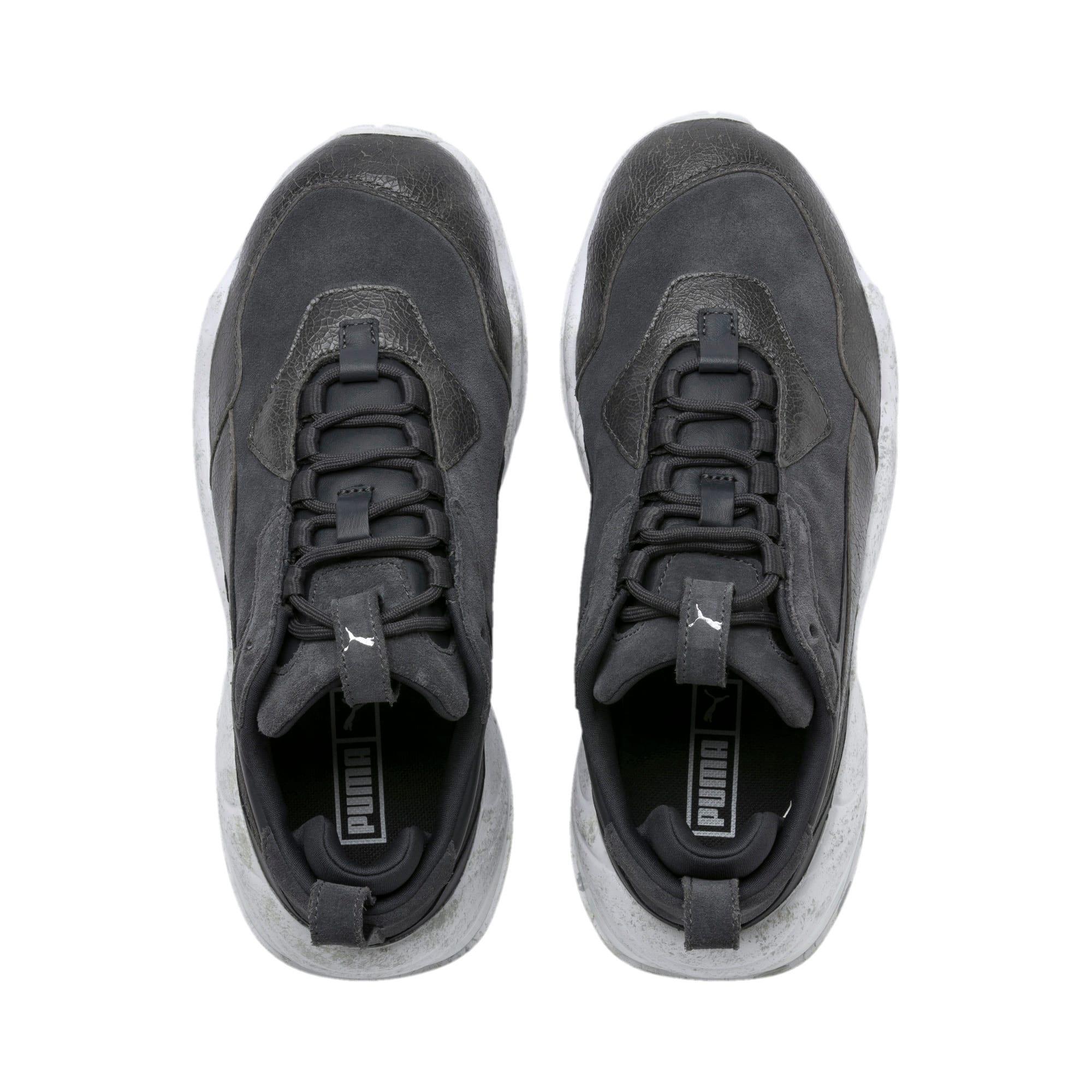 Thumbnail 7 of Thunder Distressed Women's Sneakers, Ebony-Puma Silver, medium
