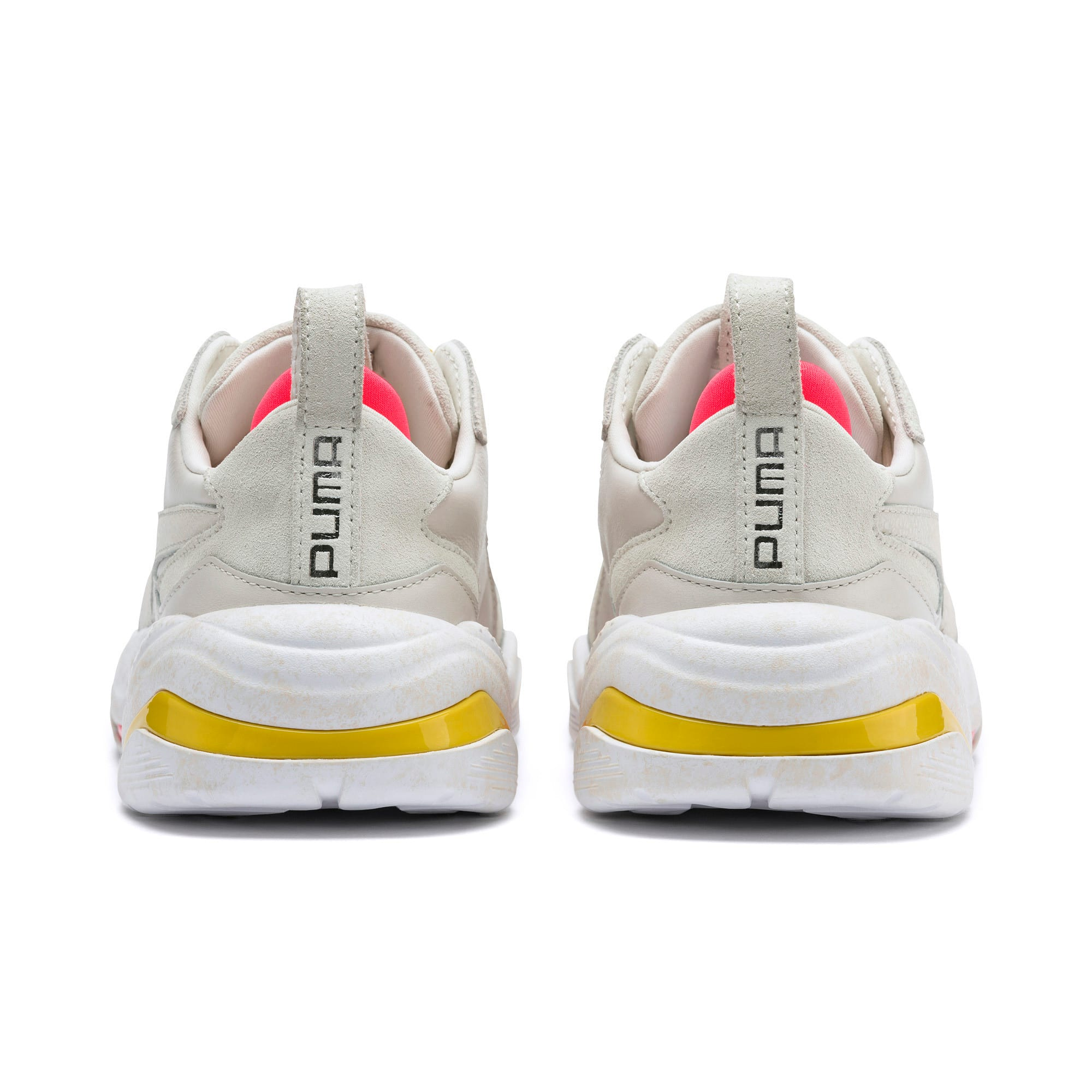 Thumbnail 4 of Thunder Distressed Women's Sneakers, Pastel Parchment-Puma Silver, medium