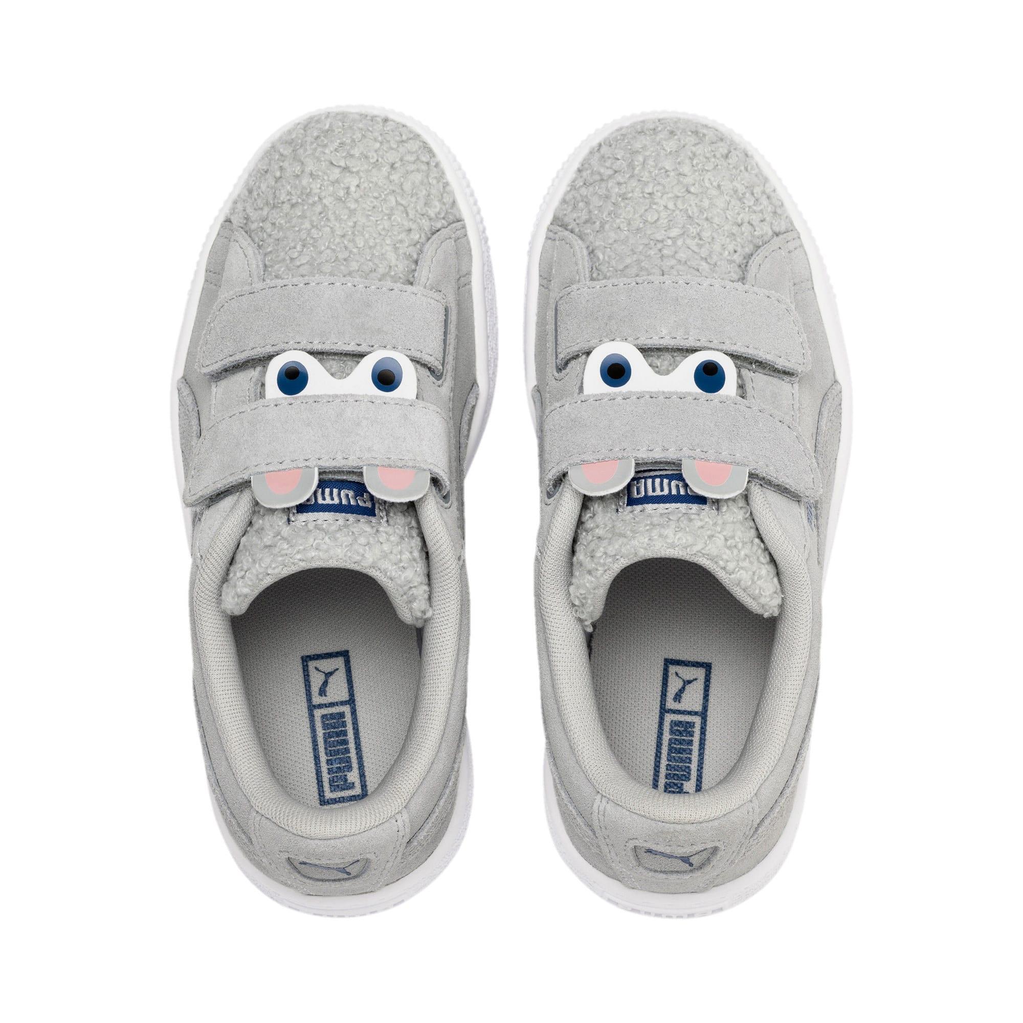 Thumbnail 6 of Suede Winter Monster Little Kids' Shoes, High Rise-Galaxy Blue, medium