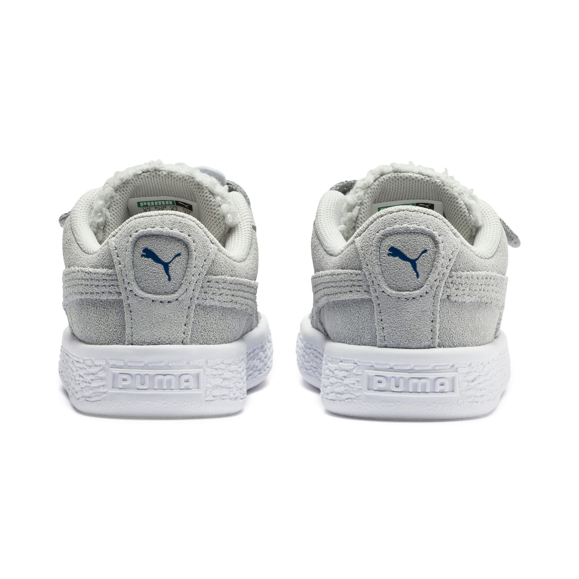 Thumbnail 3 of Suede Winter Monster Toddler Shoes, High Rise-Galaxy Blue, medium