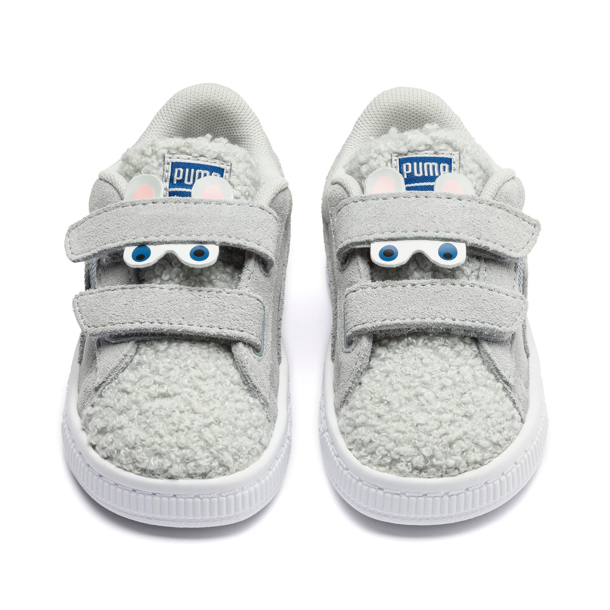 Thumbnail 7 of Suede Winter Monster Toddler Shoes, High Rise-Galaxy Blue, medium