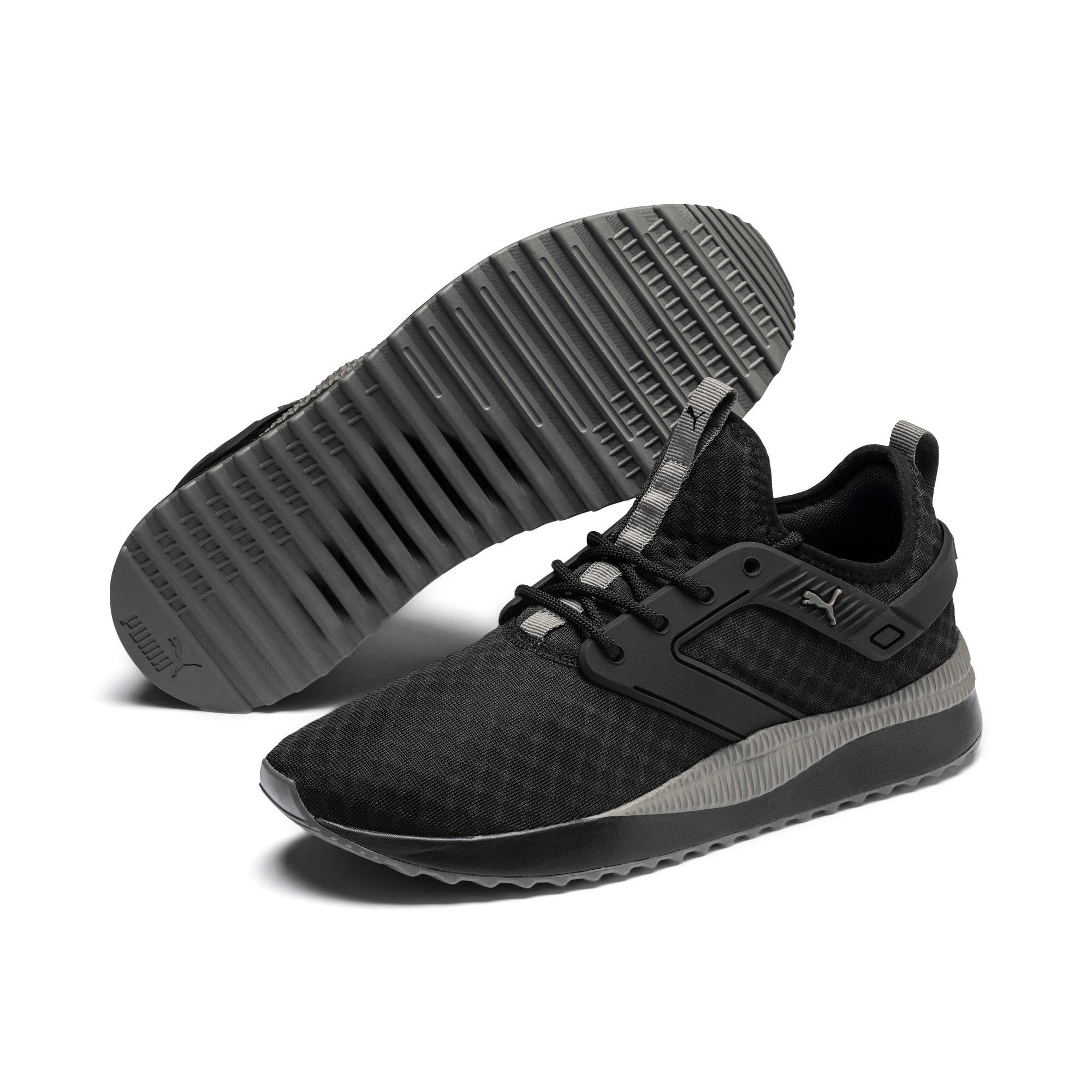 Thumbnail 3 of Pacer Next Excel Core Sneakers, Puma Black-Charcoal Gray, medium