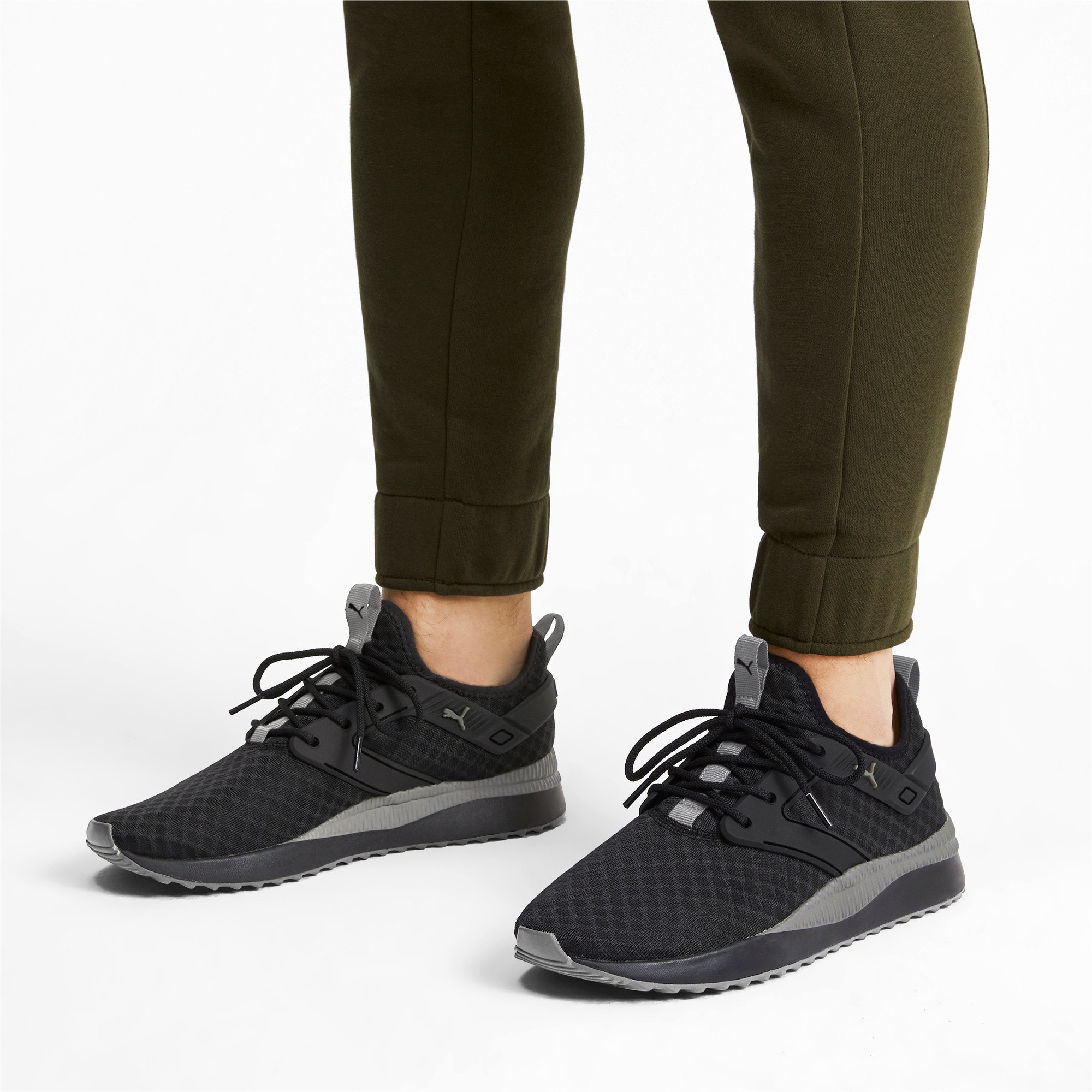 Thumbnail 2 of Pacer Next Excel Core Sneakers, Puma Black-Charcoal Gray, medium