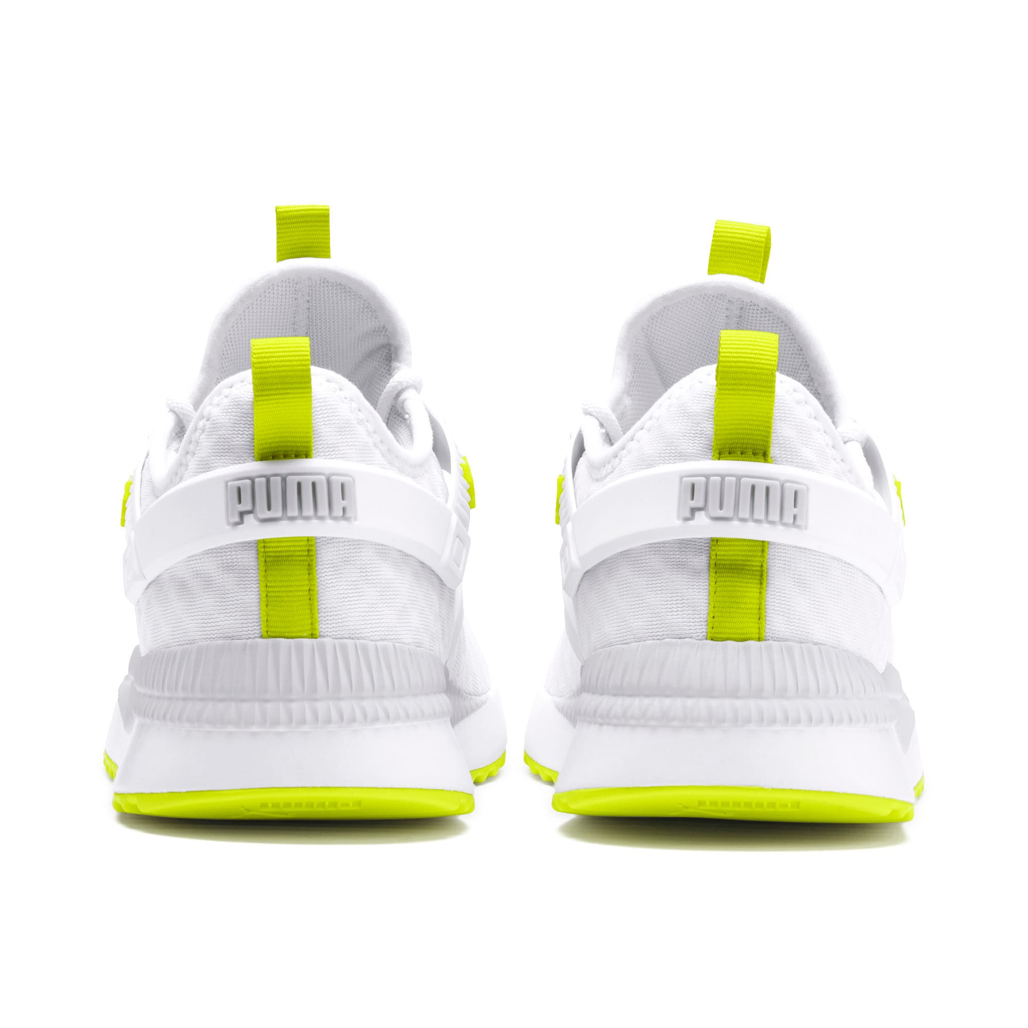 Thumbnail 4 of Pacer Next Excel Core Sneakers, Puma White-Nrgy Yellow, medium