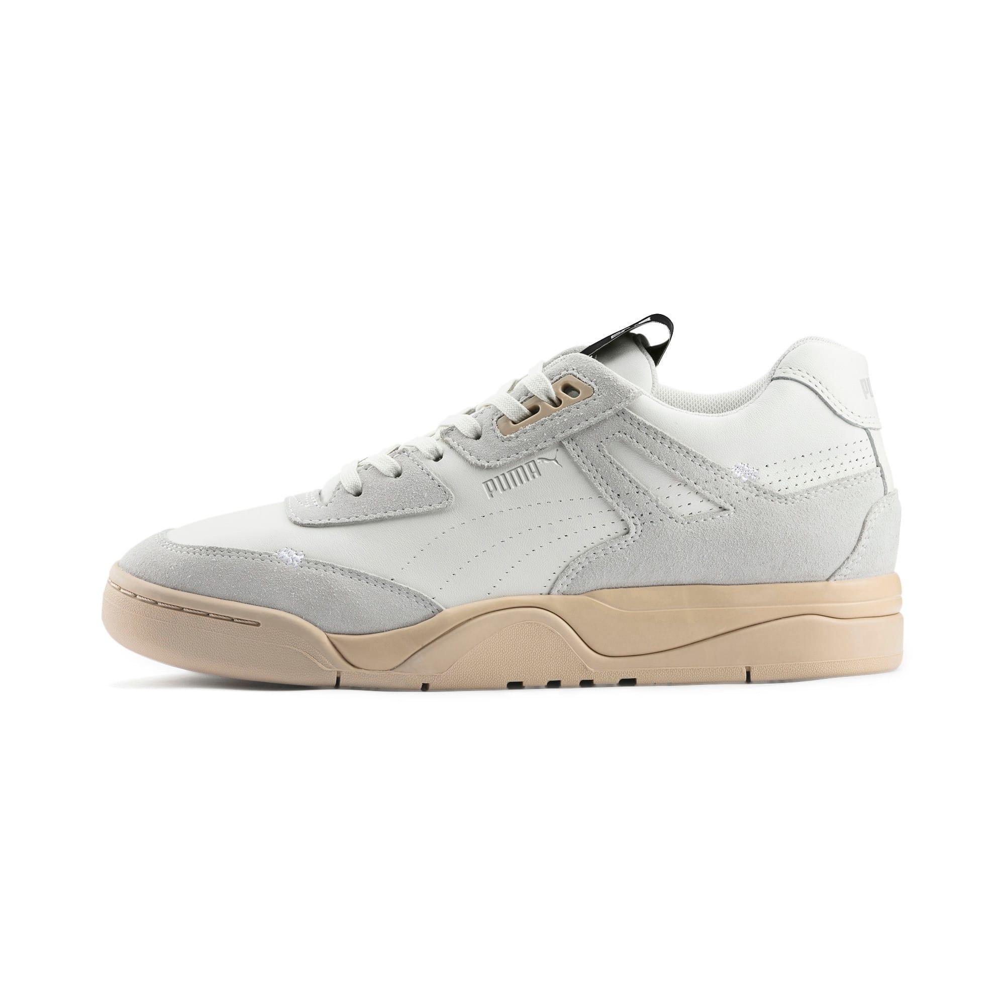 Thumbnail 1 of PUMA x RHUDE Palace Guard Sneakers, Star White-WINDCHIME, medium