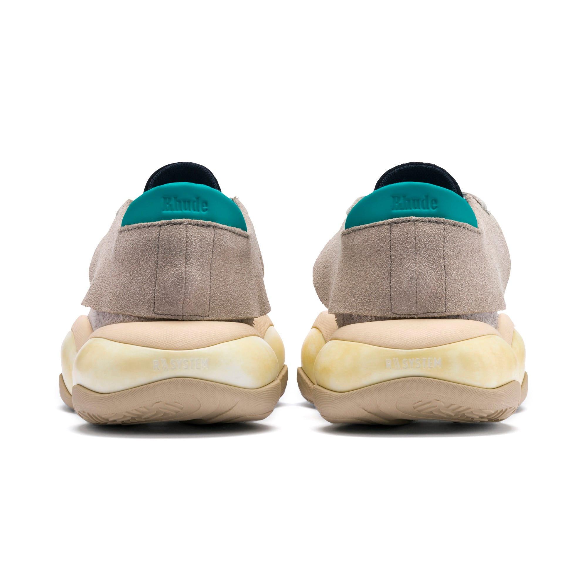 Thumbnail 3 of PUMA x RHUDE Alteration Sneakers, Chinchilla-Whisper White, medium