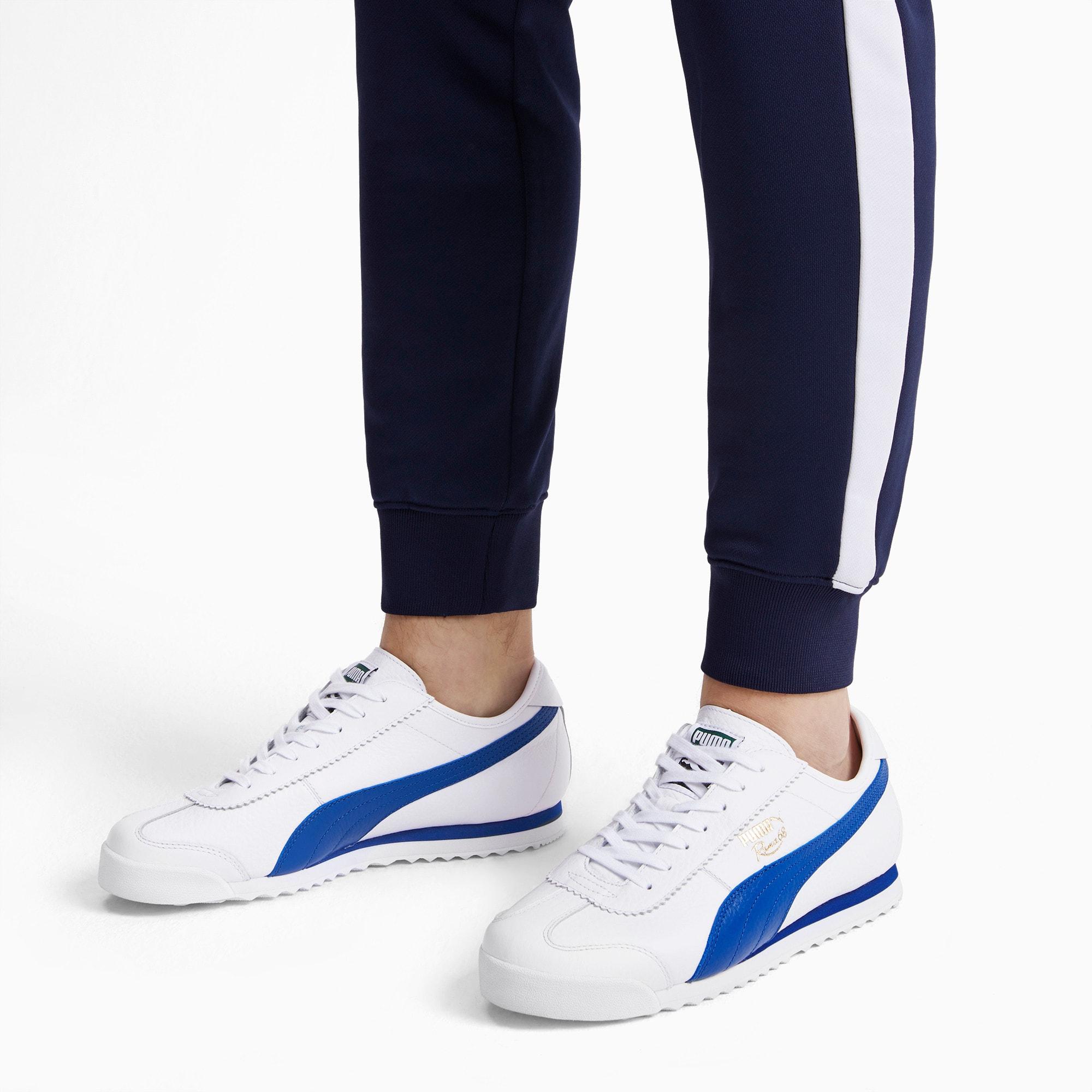 Thumbnail 3 of Roma '68 Vintage Sneakers, Puma White-Galaxy Blue, medium