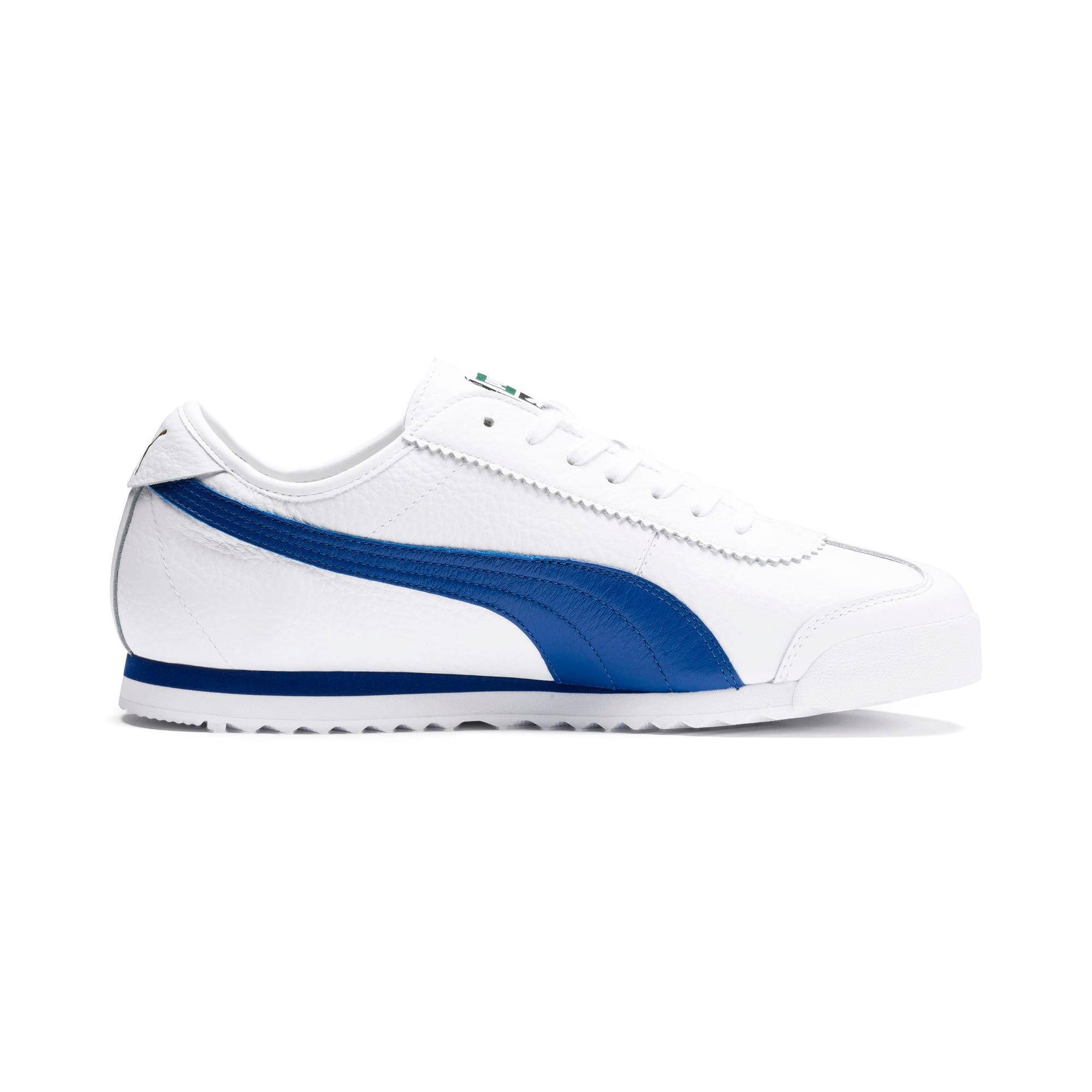 Thumbnail 6 of Roma '68 Vintage Sneakers, Puma White-Galaxy Blue, medium