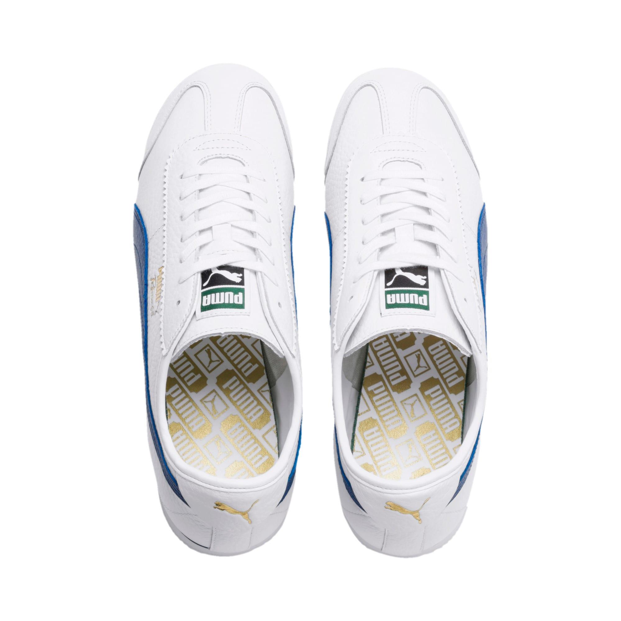 Thumbnail 7 of Roma '68 Vintage Sneakers, Puma White-Galaxy Blue, medium