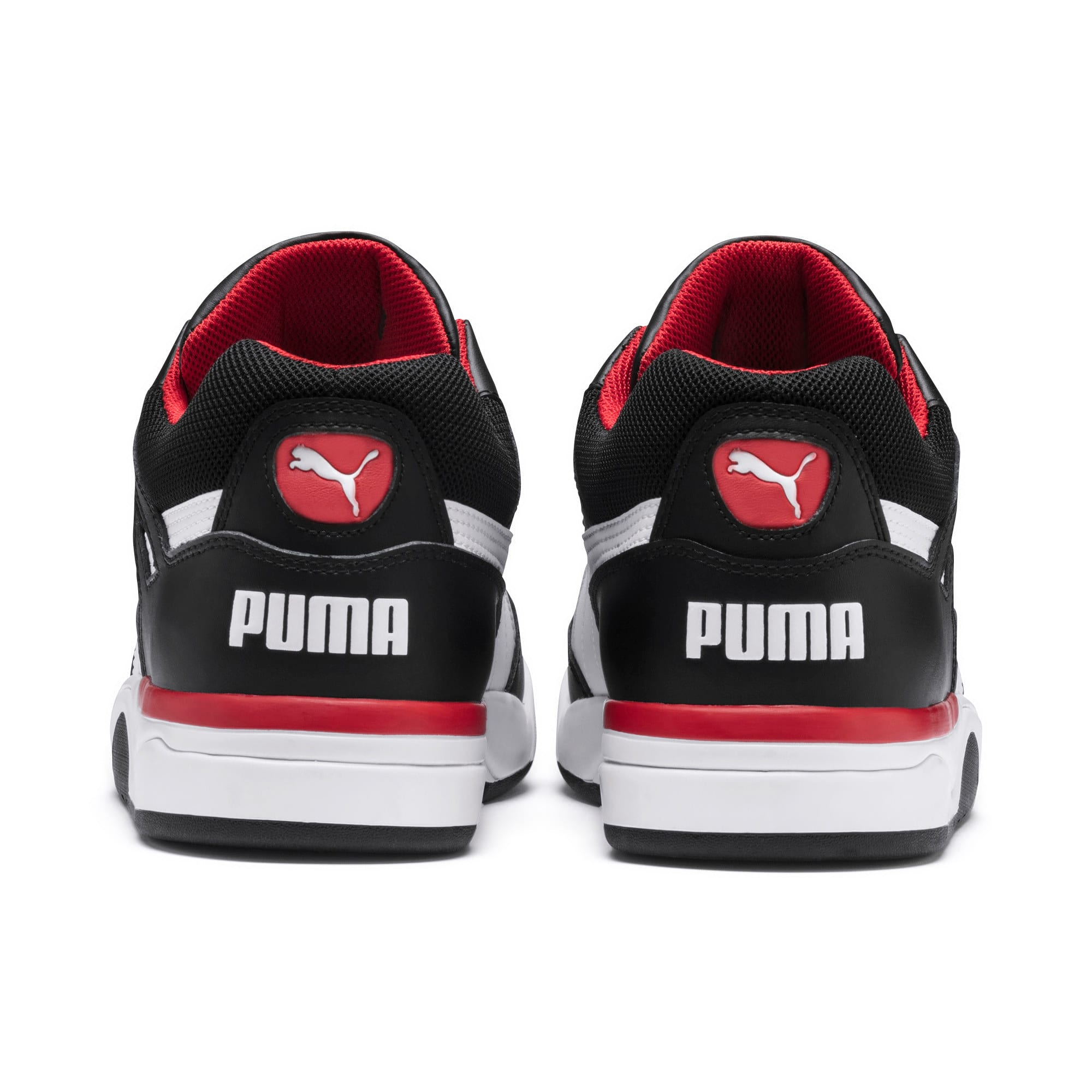 Thumbnail 3 of Palace Guard Men's Basketball Trainers, Puma Black-Puma White-red, medium