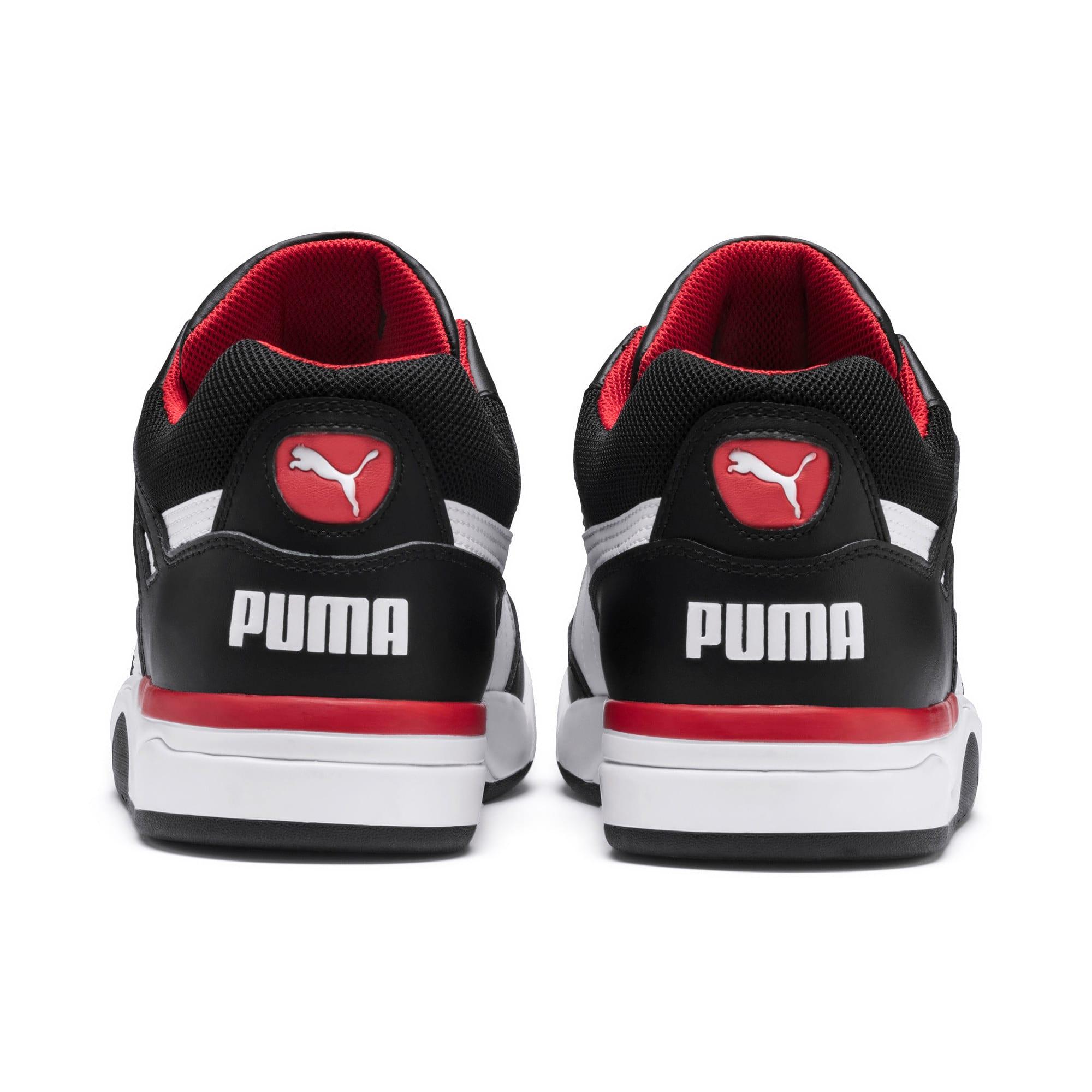 Thumbnail 3 of Basket Palace Guard, Puma Black-Puma White-red, medium