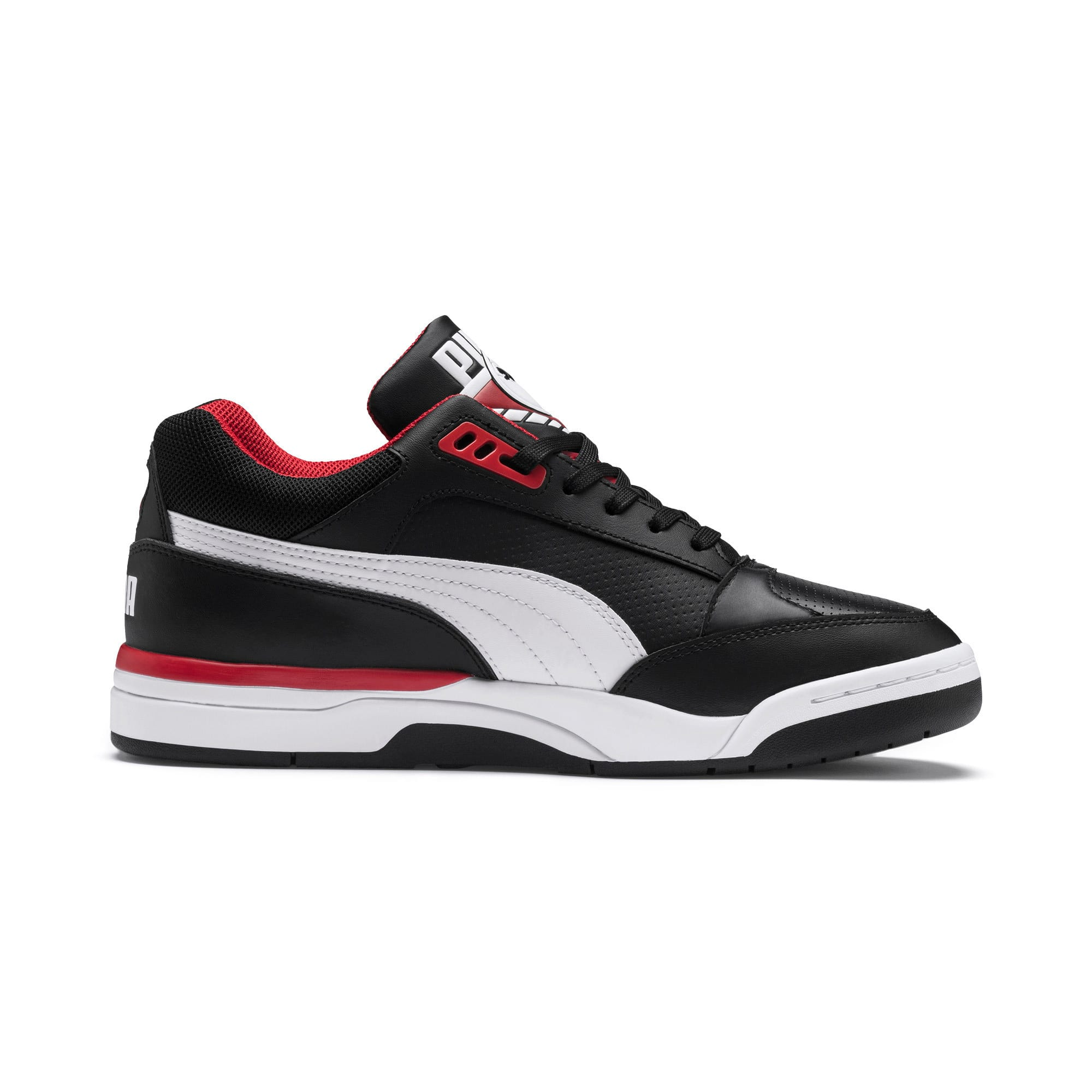 Thumbnail 5 of Palace Guard Men's Basketball Trainers, Puma Black-Puma White-red, medium