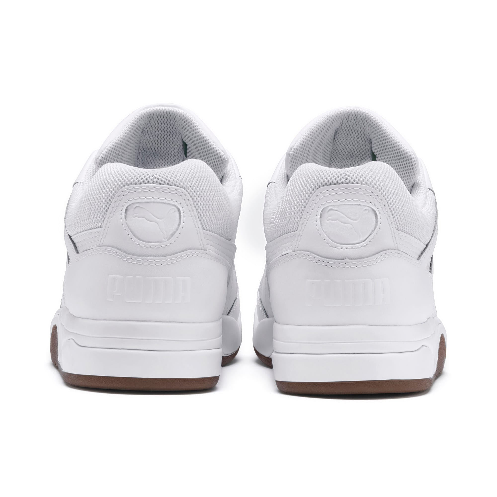 Anteprima 3 di Palace Guard Men's Basketball Trainers, Puma White-Puma White-Gum, medio