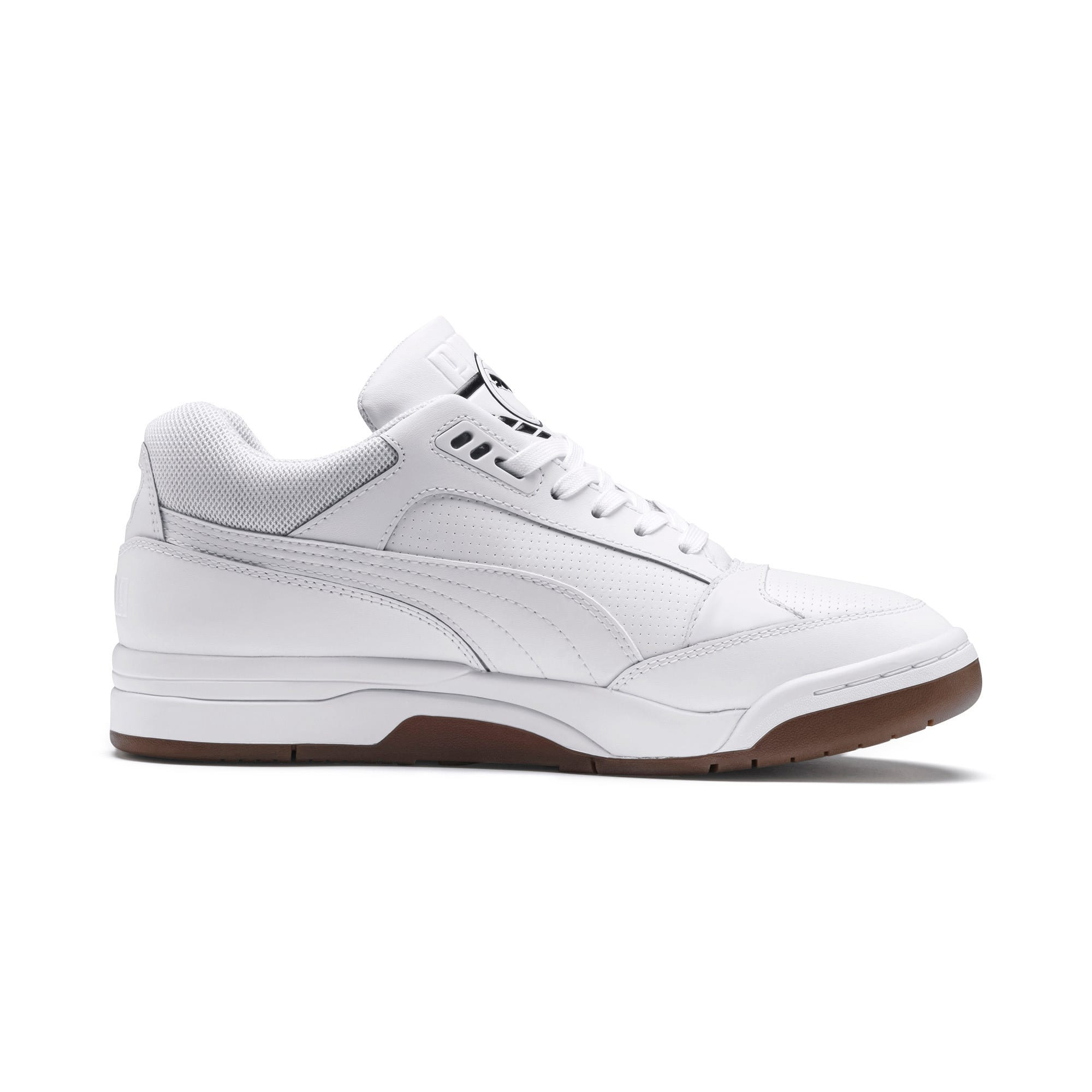 Anteprima 5 di Palace Guard Men's Basketball Trainers, Puma White-Puma White-Gum, medio