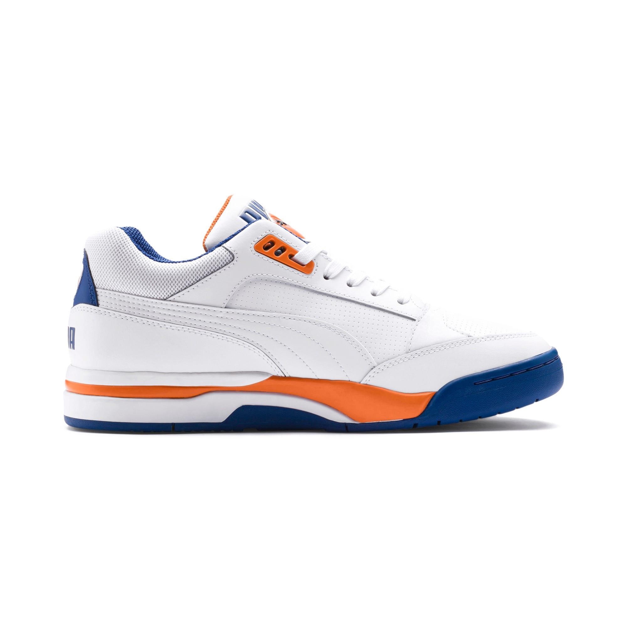 Imagen en miniatura 5 de Zapatillas de baloncesto de hombre Palace Guard, P White-Jaffa Orange-G Blue, mediana