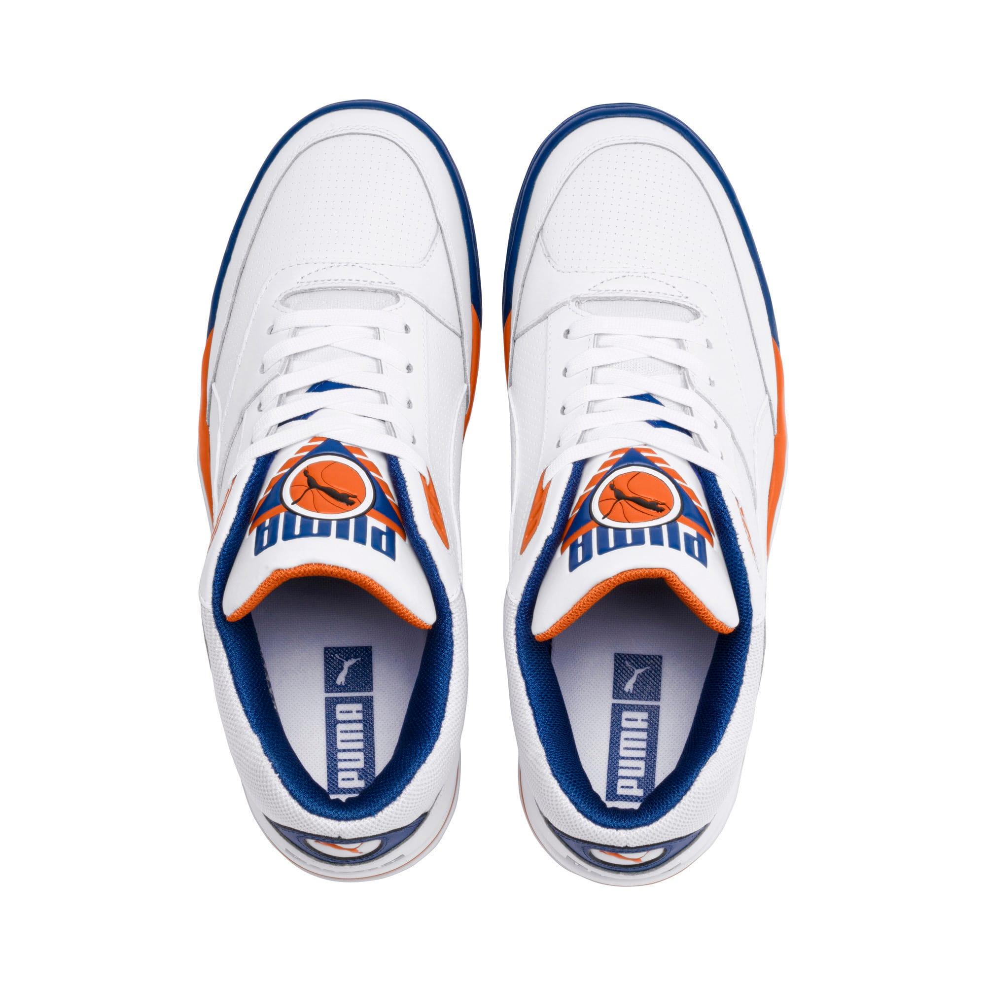 Imagen en miniatura 6 de Zapatillas de baloncesto de hombre Palace Guard, P White-Jaffa Orange-G Blue, mediana