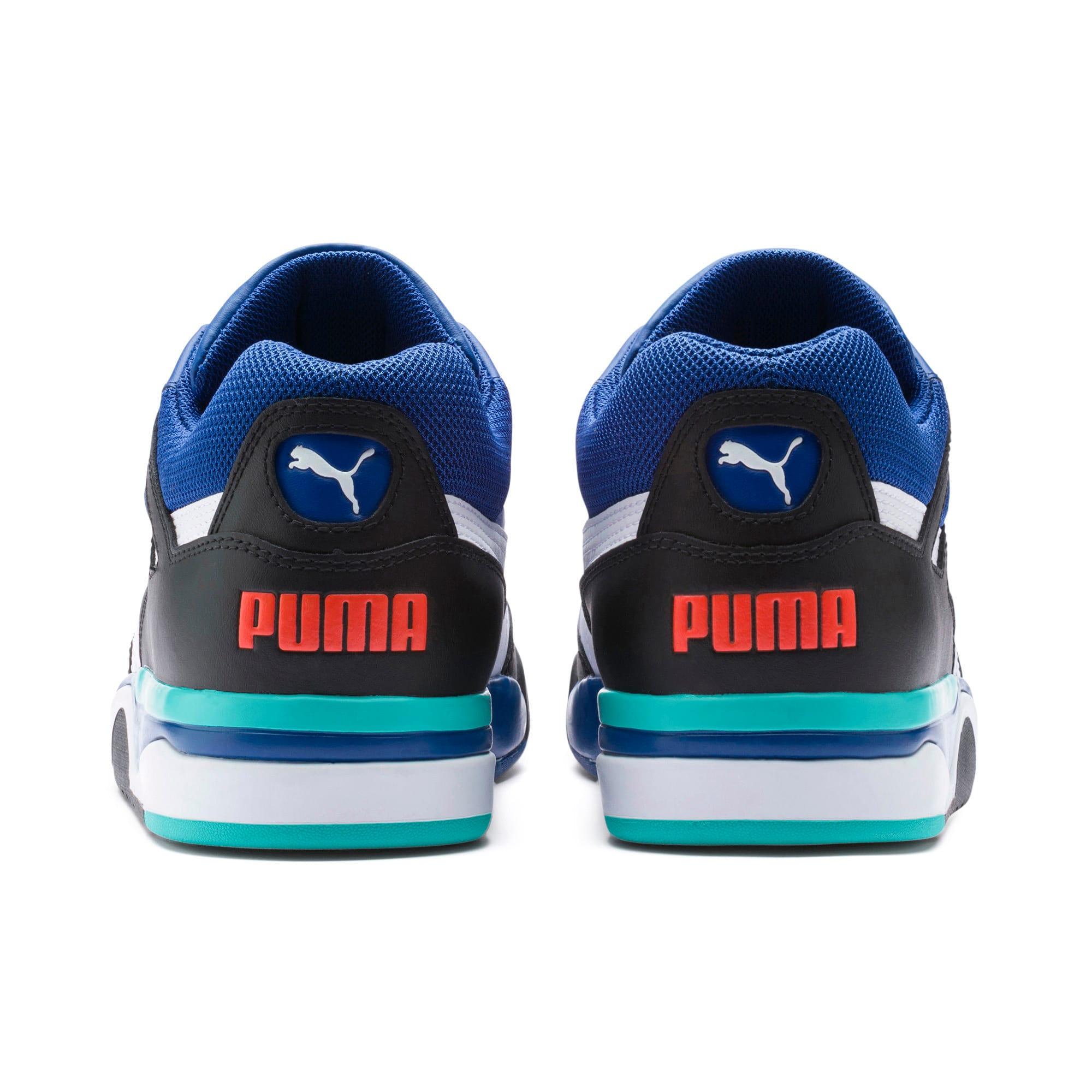 Thumbnail 3 of Palace Guard Men's Basketball Trainers, Puma Black-Puma White-Blue, medium