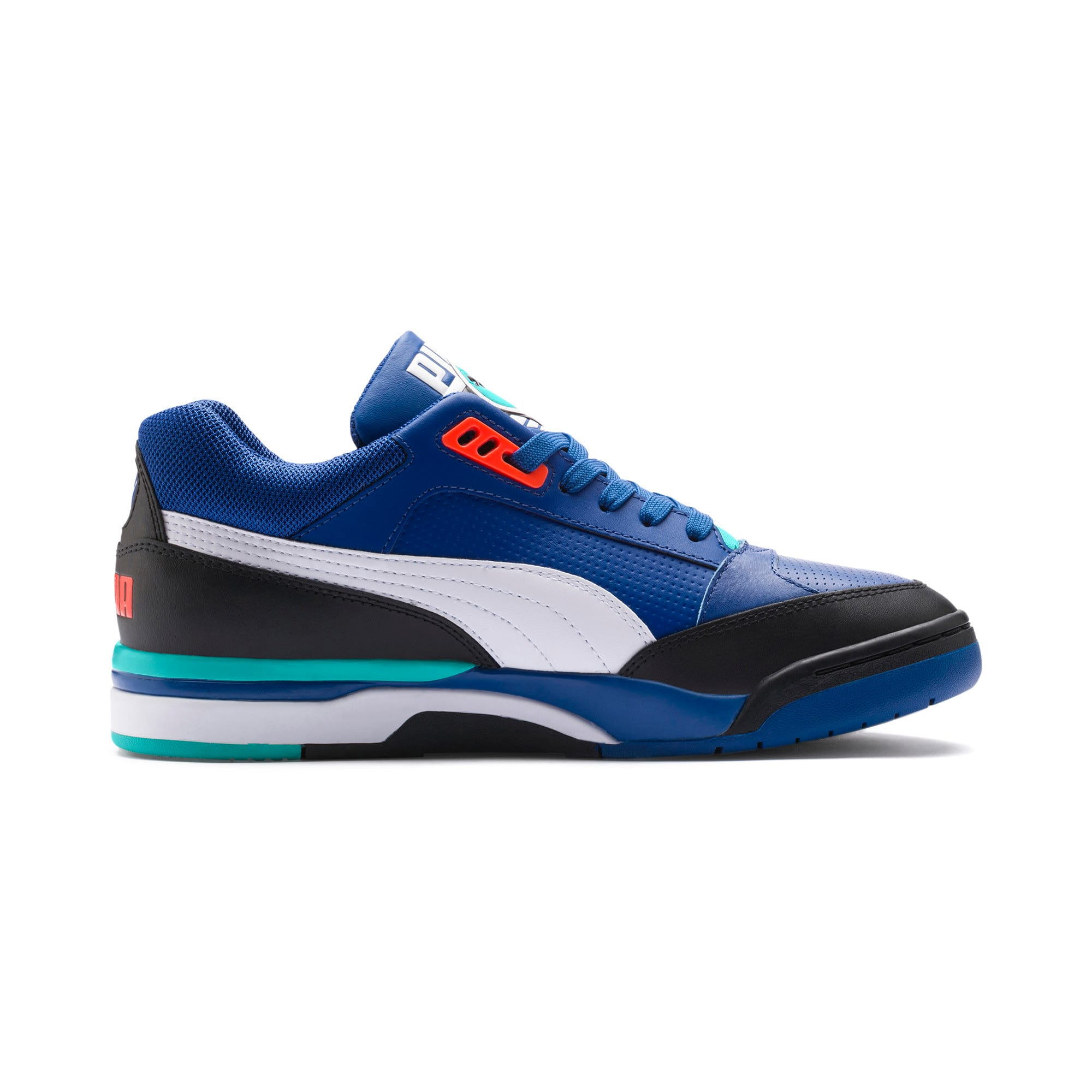 Thumbnail 5 of Palace Guard Sneakers, Puma Black-Puma White-Blue, medium