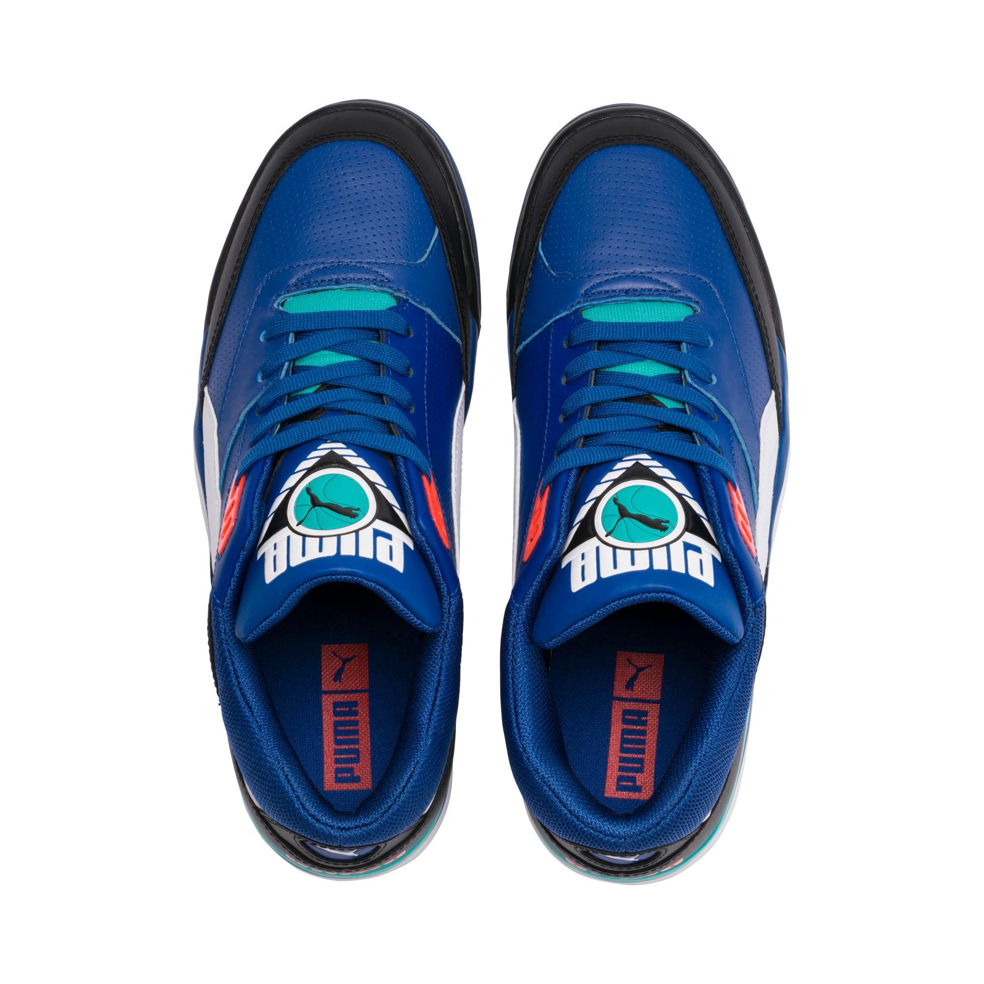 Thumbnail 6 of Palace Guard Sneakers, Puma Black-Puma White-Blue, medium
