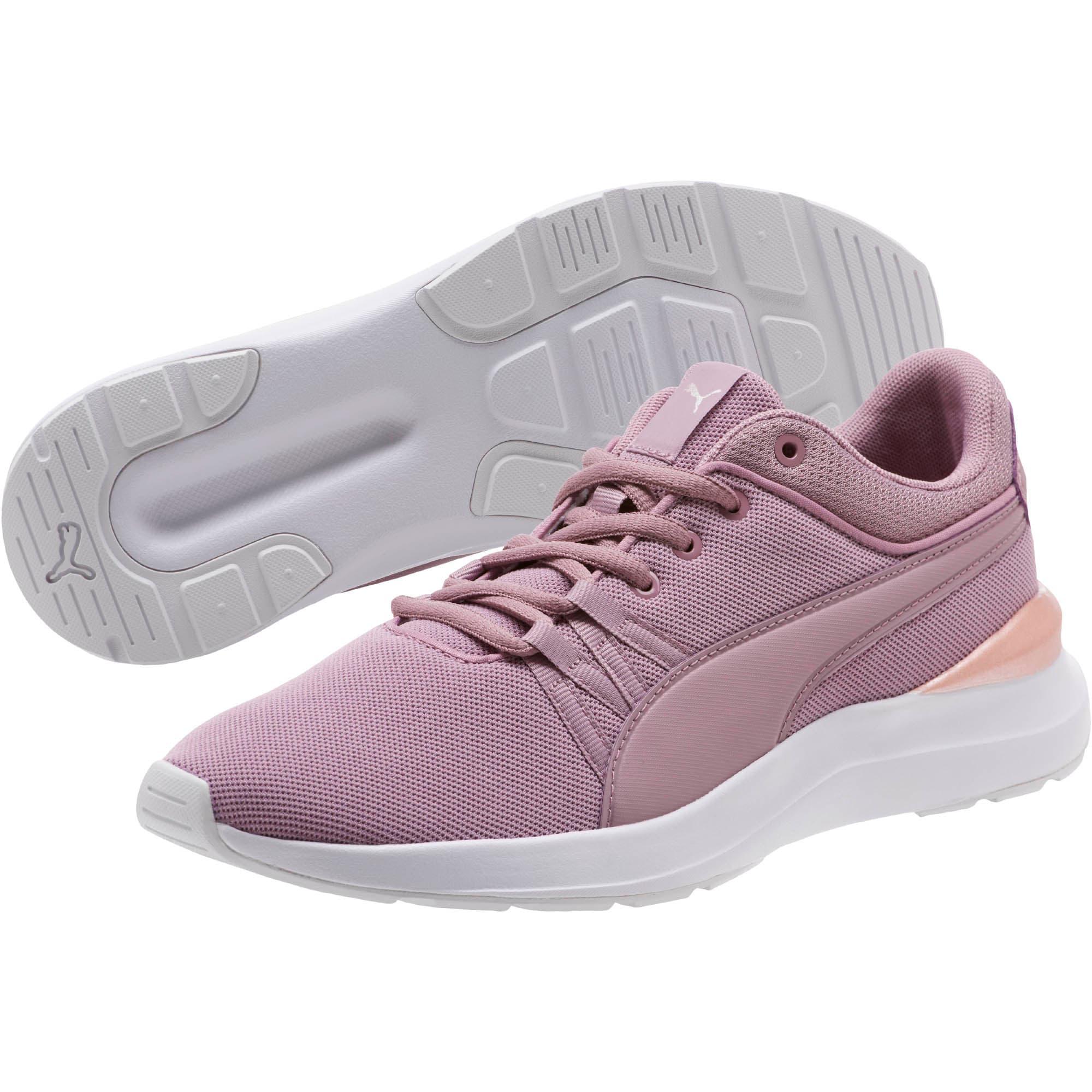 Thumbnail 2 of Adela Mesh Women's Sneakers, Elderberry-Rose Gold, medium