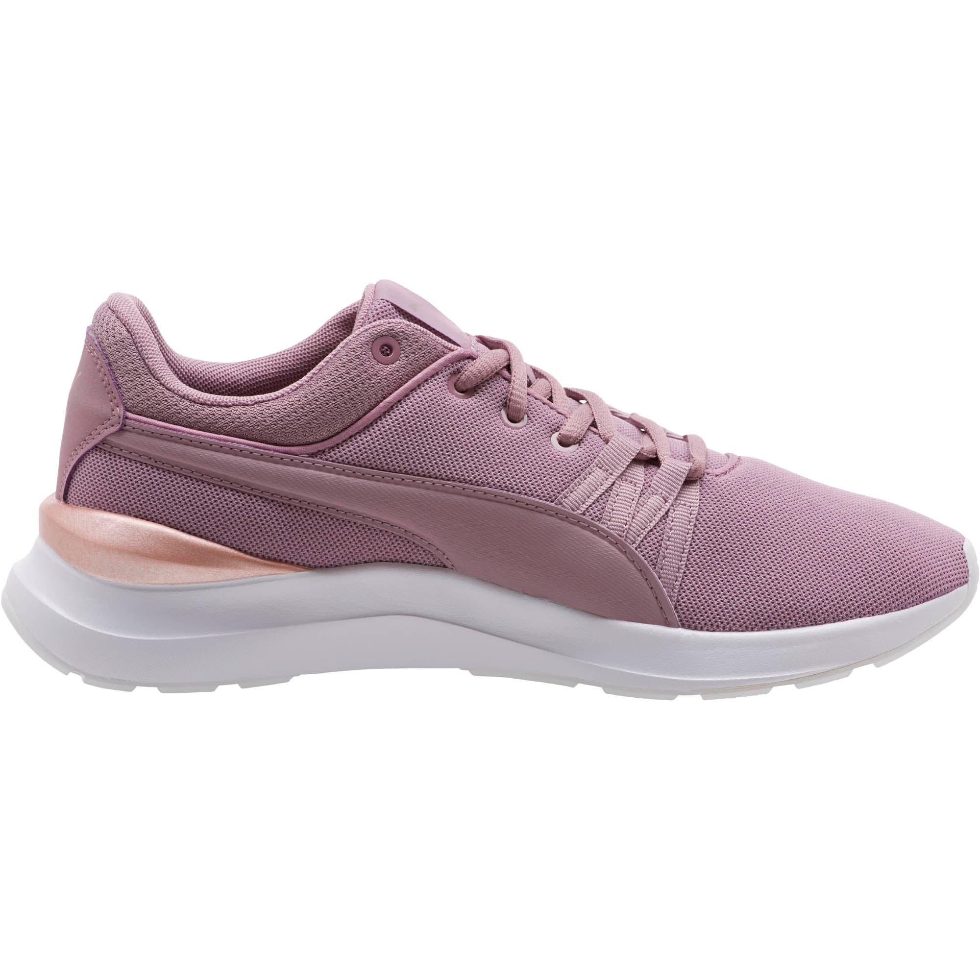 Thumbnail 4 of Adela Mesh Women's Sneakers, Elderberry-Rose Gold, medium