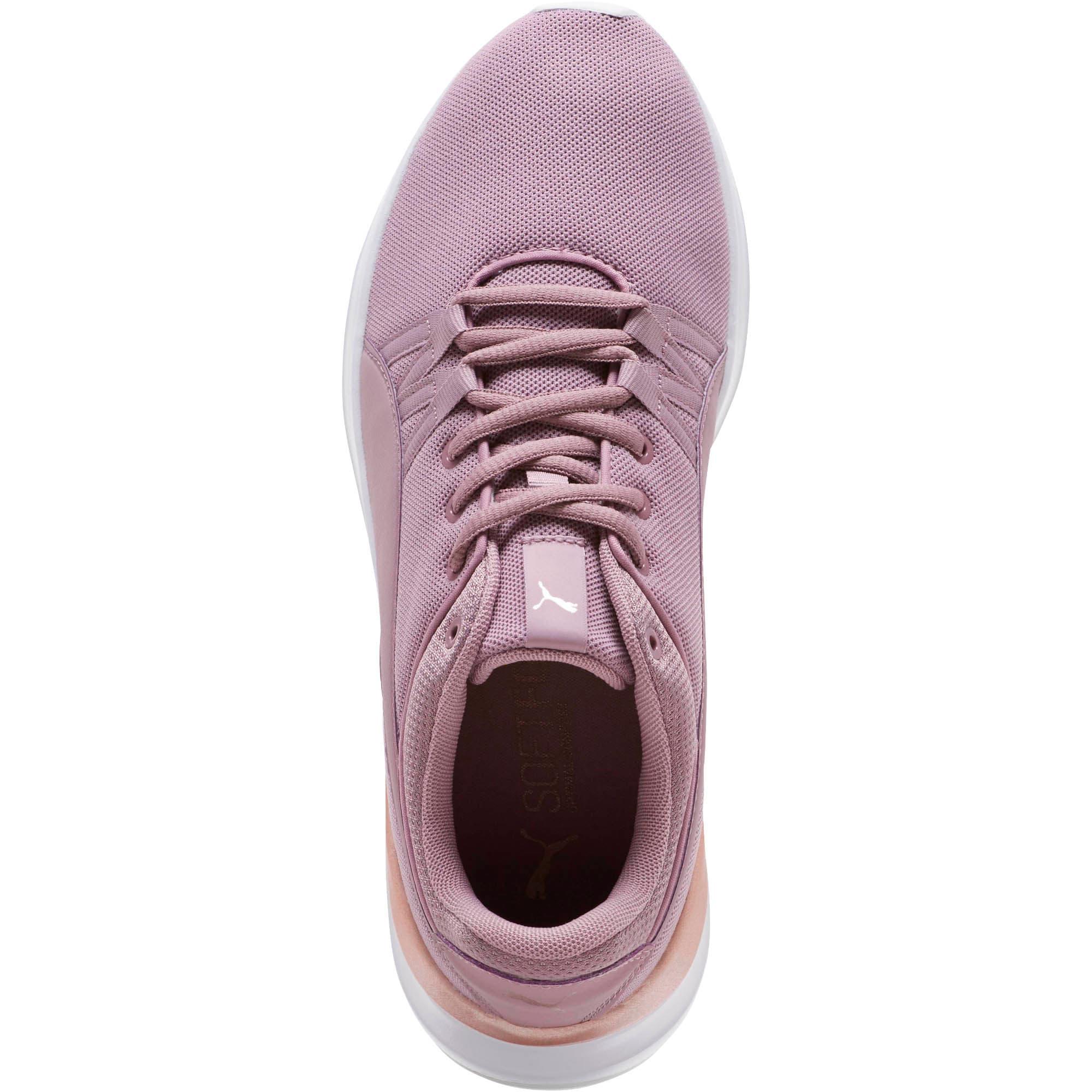 Thumbnail 5 of Adela Mesh Women's Sneakers, Elderberry-Rose Gold, medium
