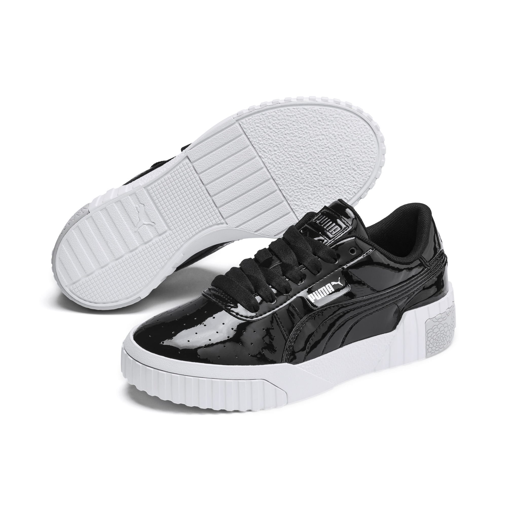 Thumbnail 2 of Cali Patent Sneakers JR, Puma Black-Puma White, medium