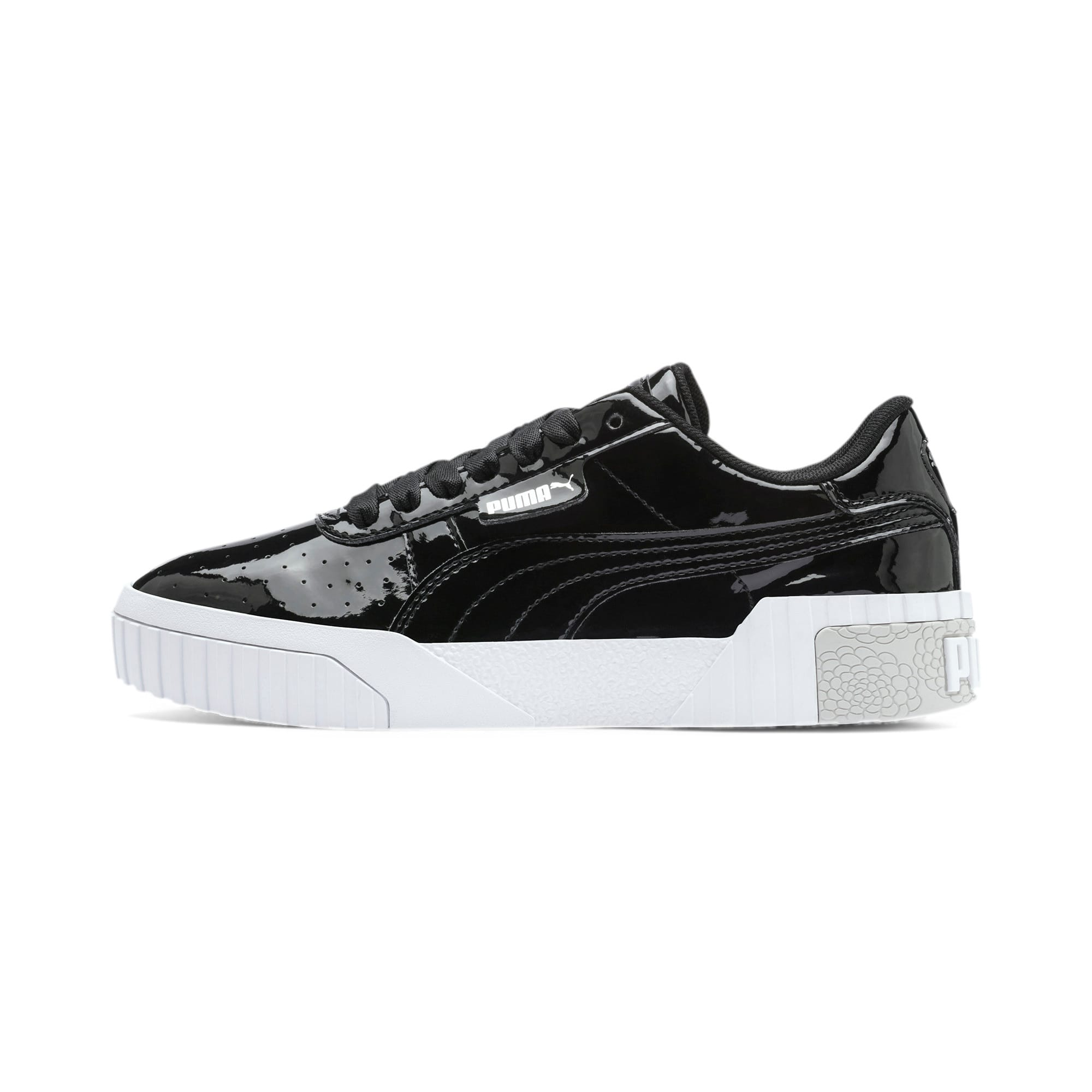 Thumbnail 1 of Cali Patent Sneakers JR, Puma Black-Puma White, medium