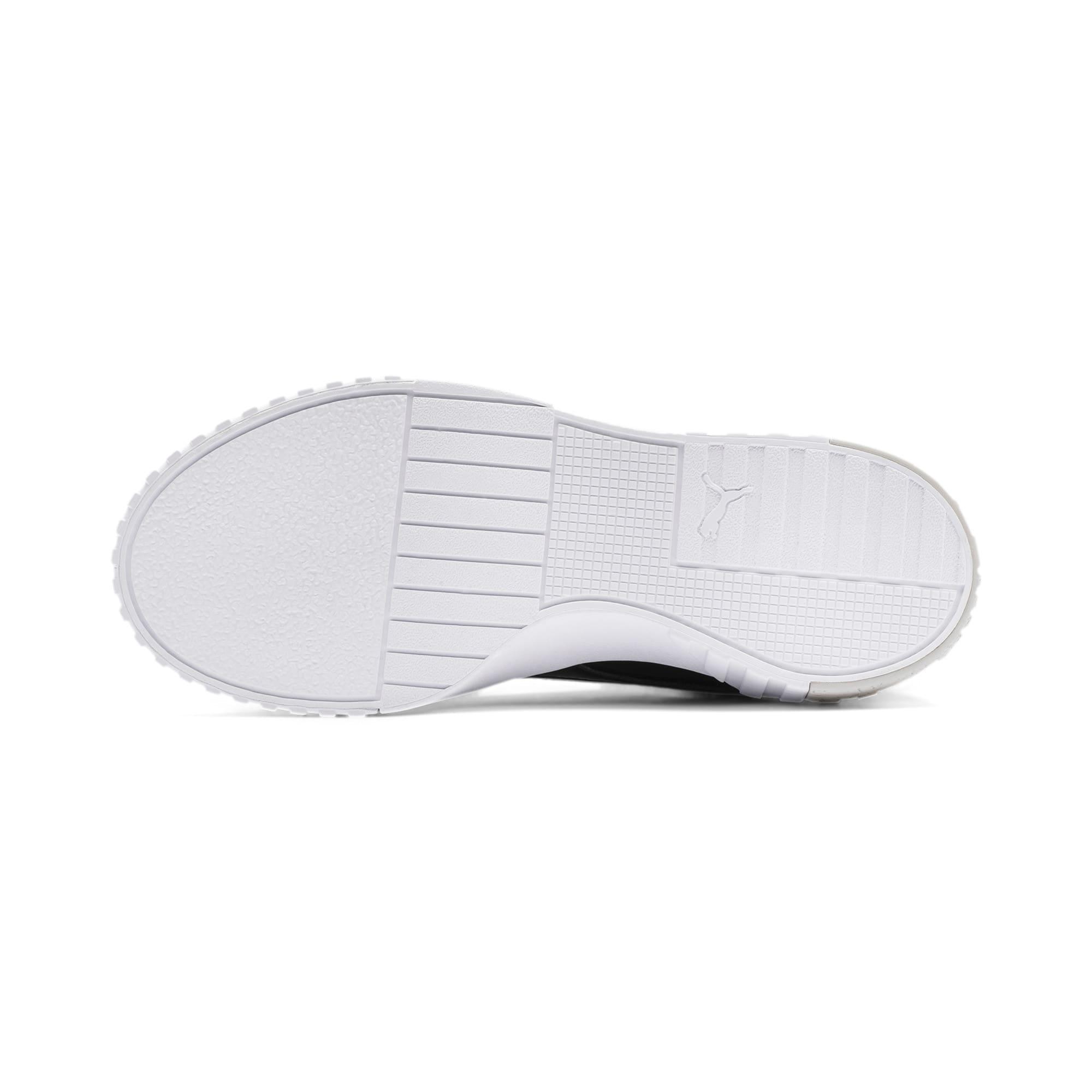 Thumbnail 4 of Cali Patent Sneakers JR, Puma Black-Puma White, medium
