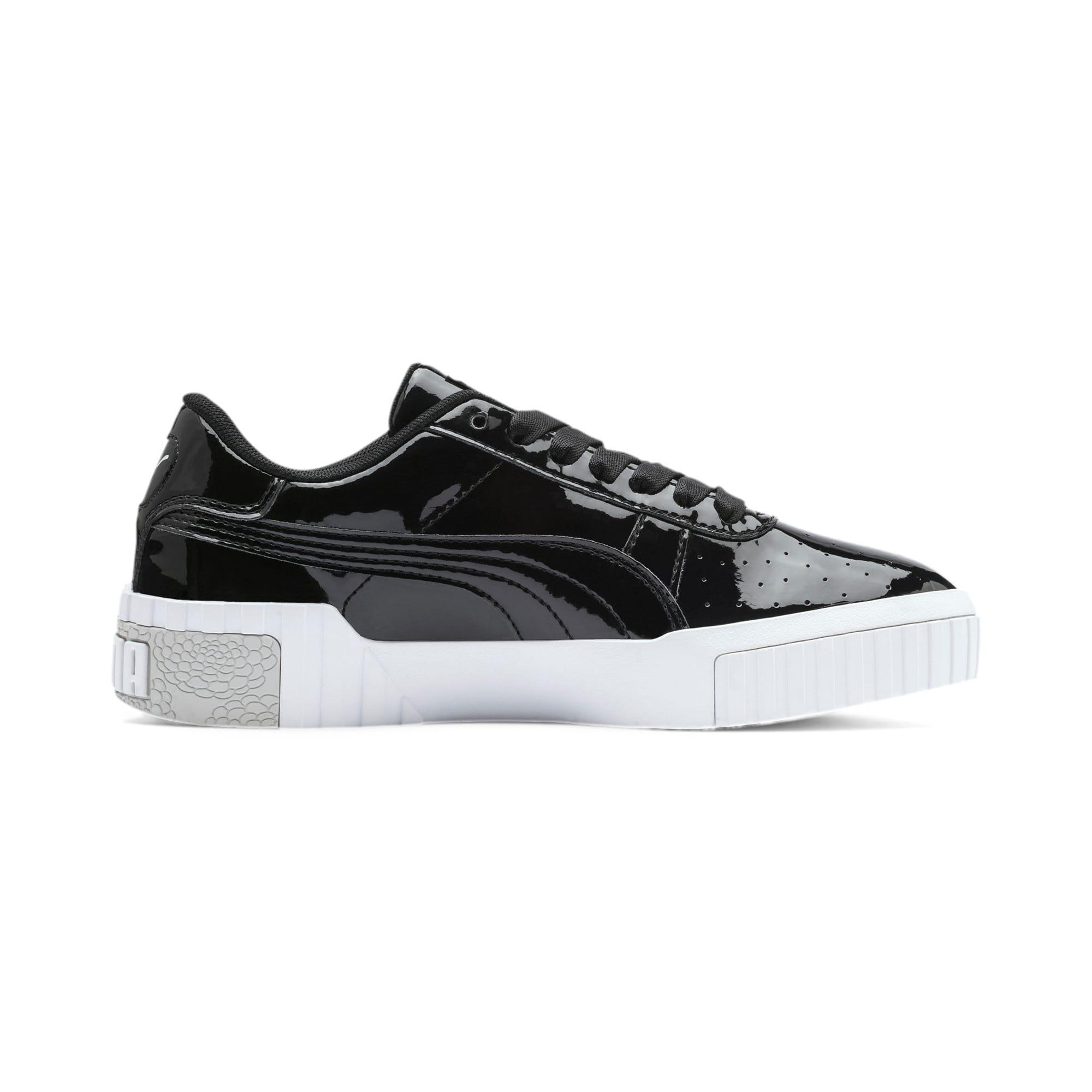 Thumbnail 5 of Cali Patent Sneakers JR, Puma Black-Puma White, medium