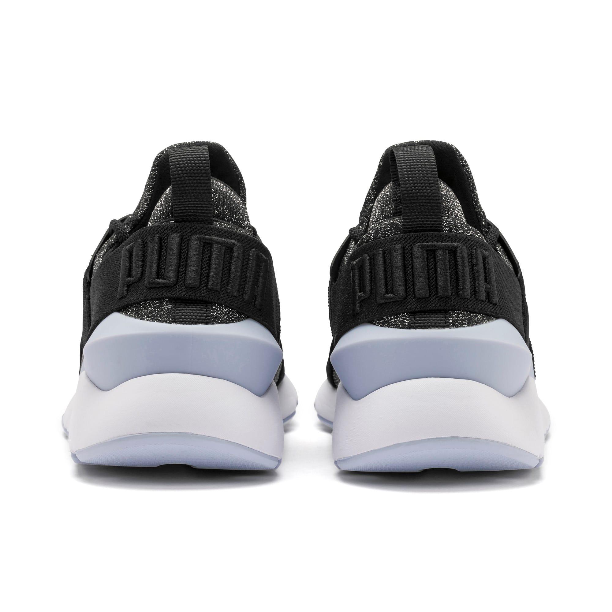Thumbnail 3 of Muse Shift Sneakers JR, Puma Black-Heather, medium