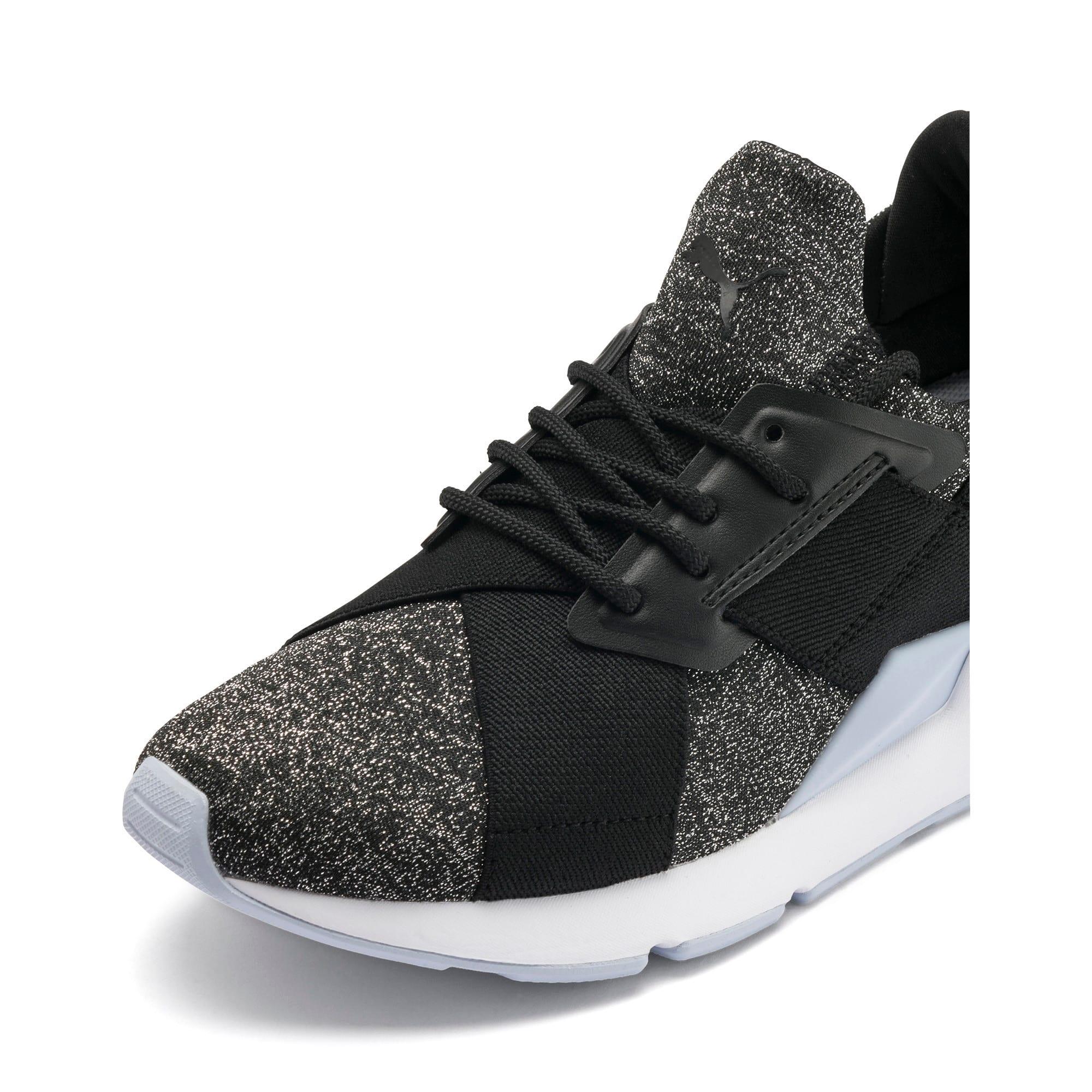 Thumbnail 7 of Muse Shift Sneakers JR, Puma Black-Heather, medium