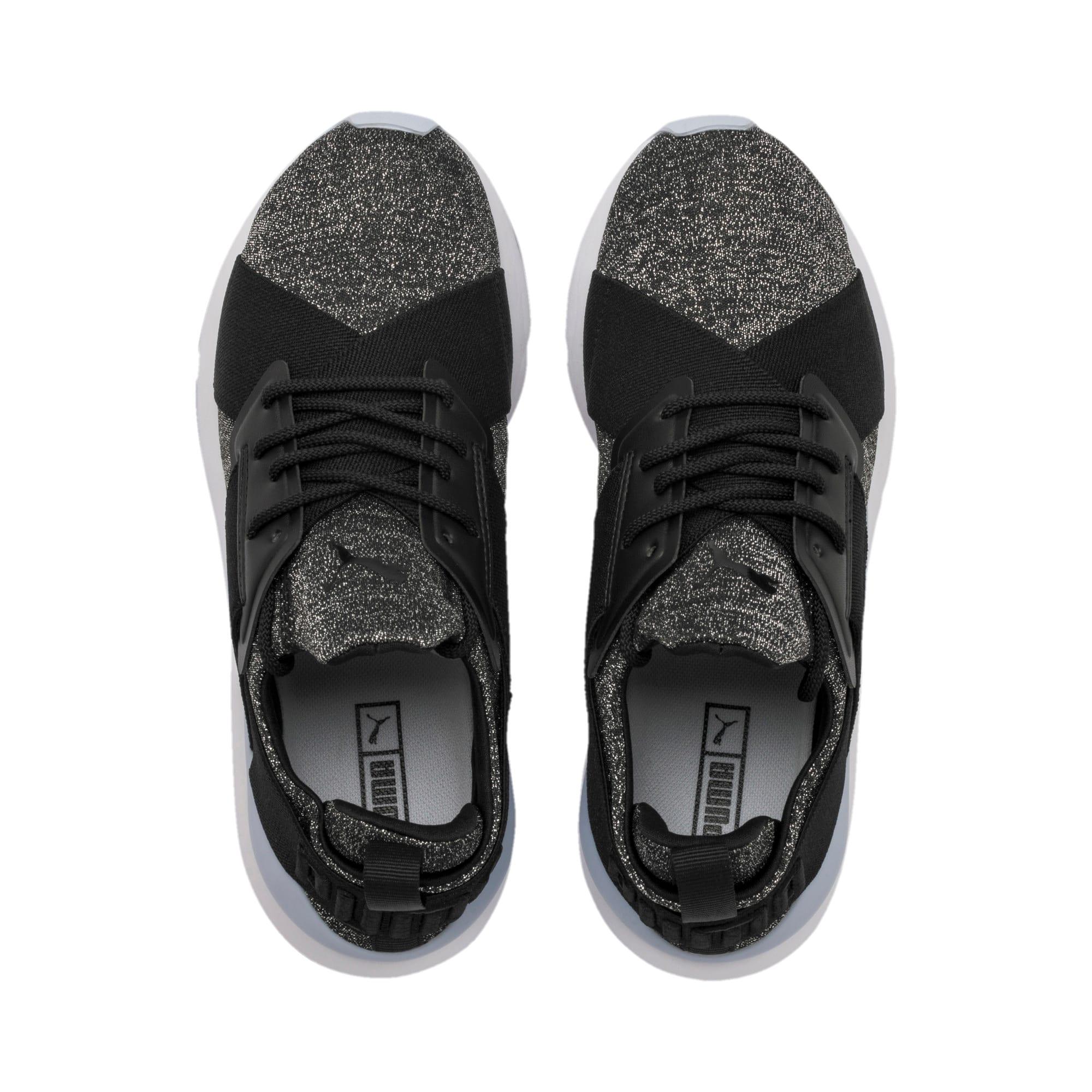 Thumbnail 6 of Muse Shift Sneakers JR, Puma Black-Heather, medium