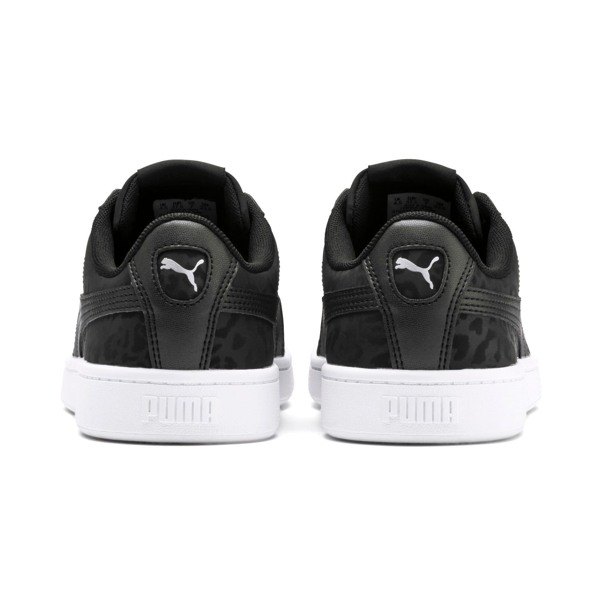 Thumbnail 4 of PUMA Vikky v2 Wildcat Women's Sneakers, Puma Black-Puma Silver-White, medium