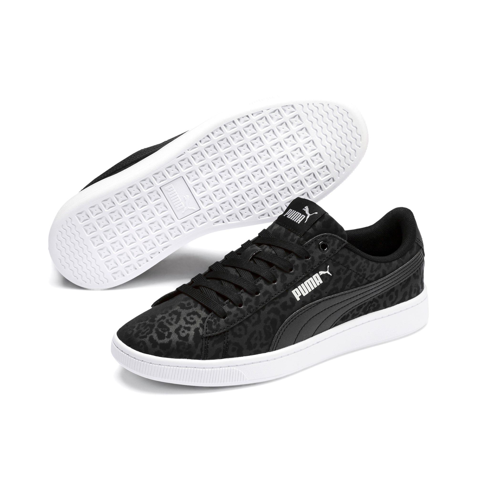 Thumbnail 3 of PUMA Vikky v2 Wildcat Women's Sneakers, Puma Black-Puma Silver-White, medium