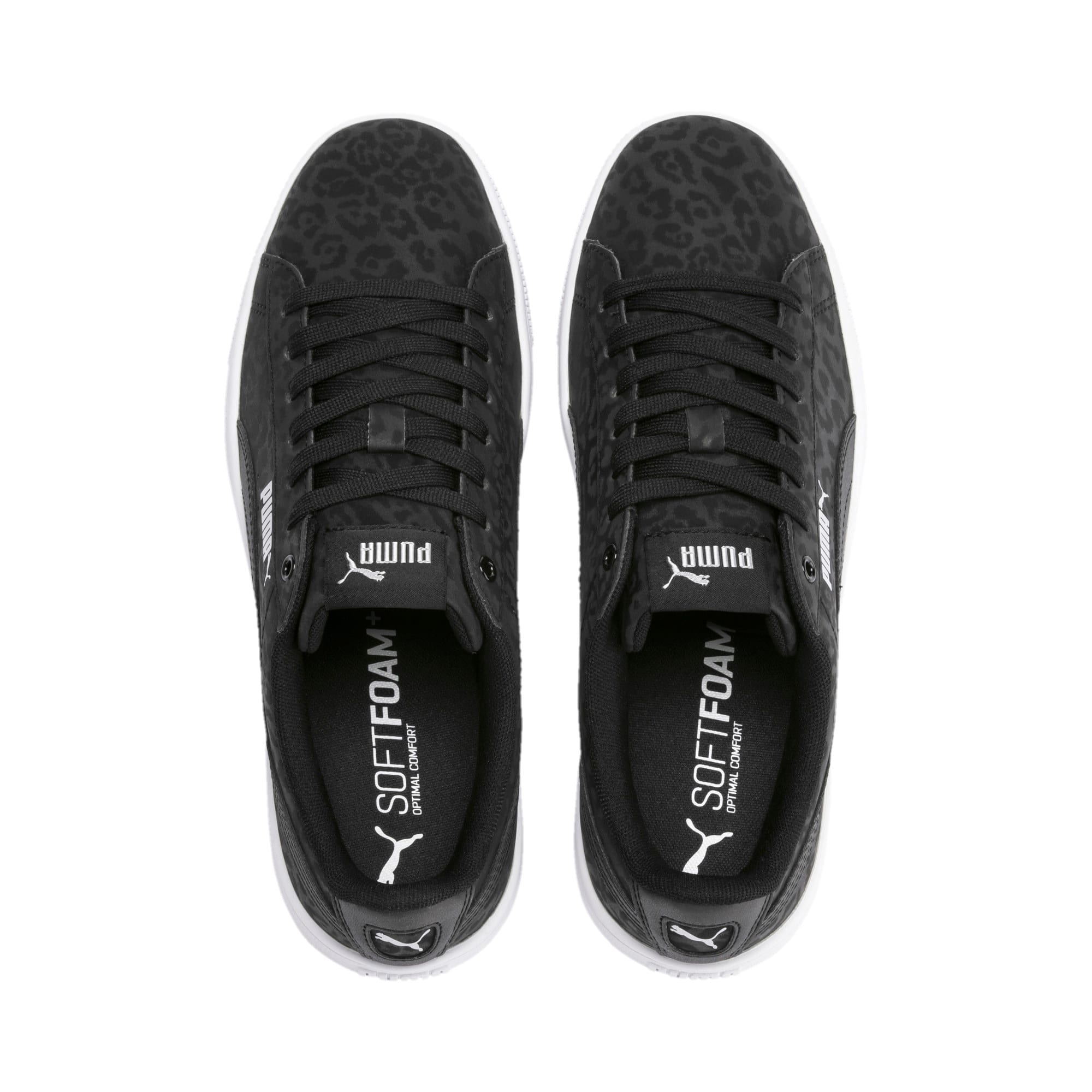 Thumbnail 7 of PUMA Vikky v2 Wildcat Women's Sneakers, Puma Black-Puma Silver-White, medium