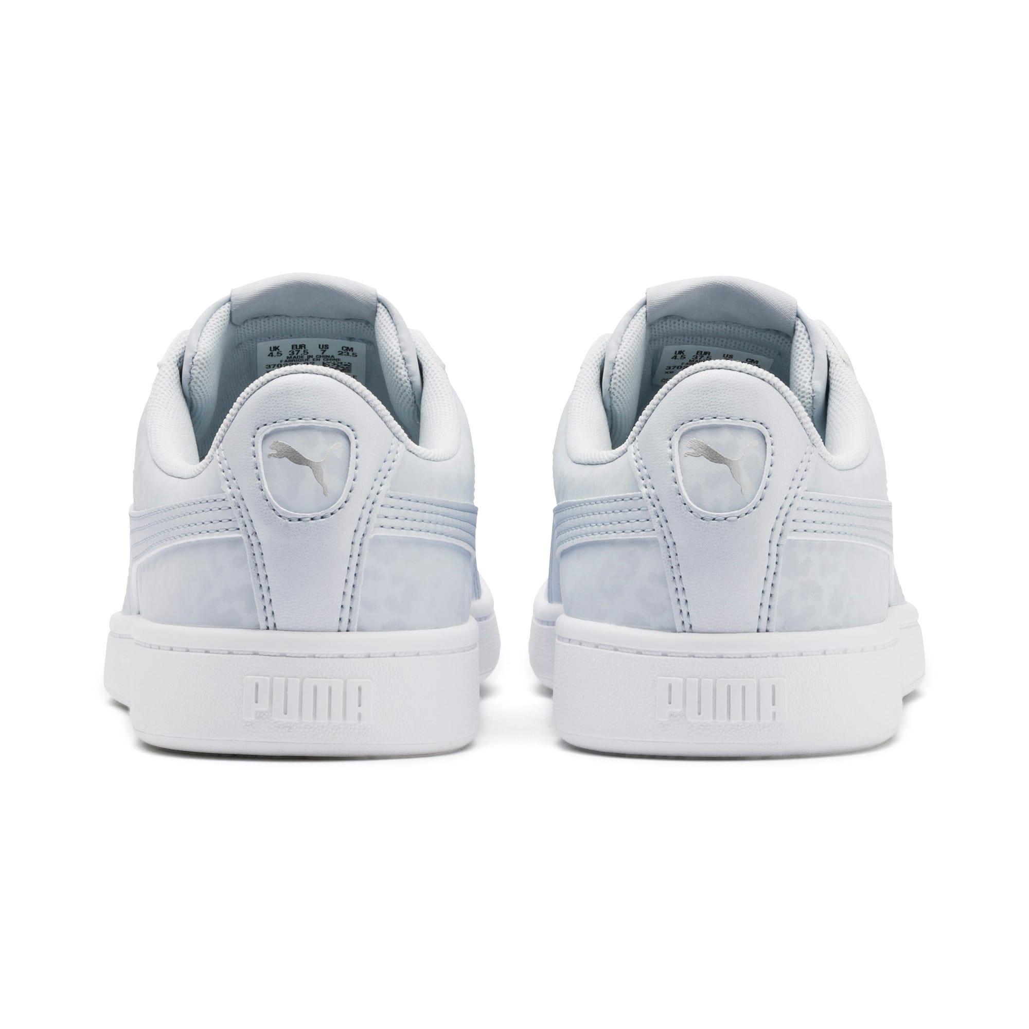 Thumbnail 4 of PUMA Vikky v2 Wildcat Women's Sneakers, Heather-Puma Silver-White, medium