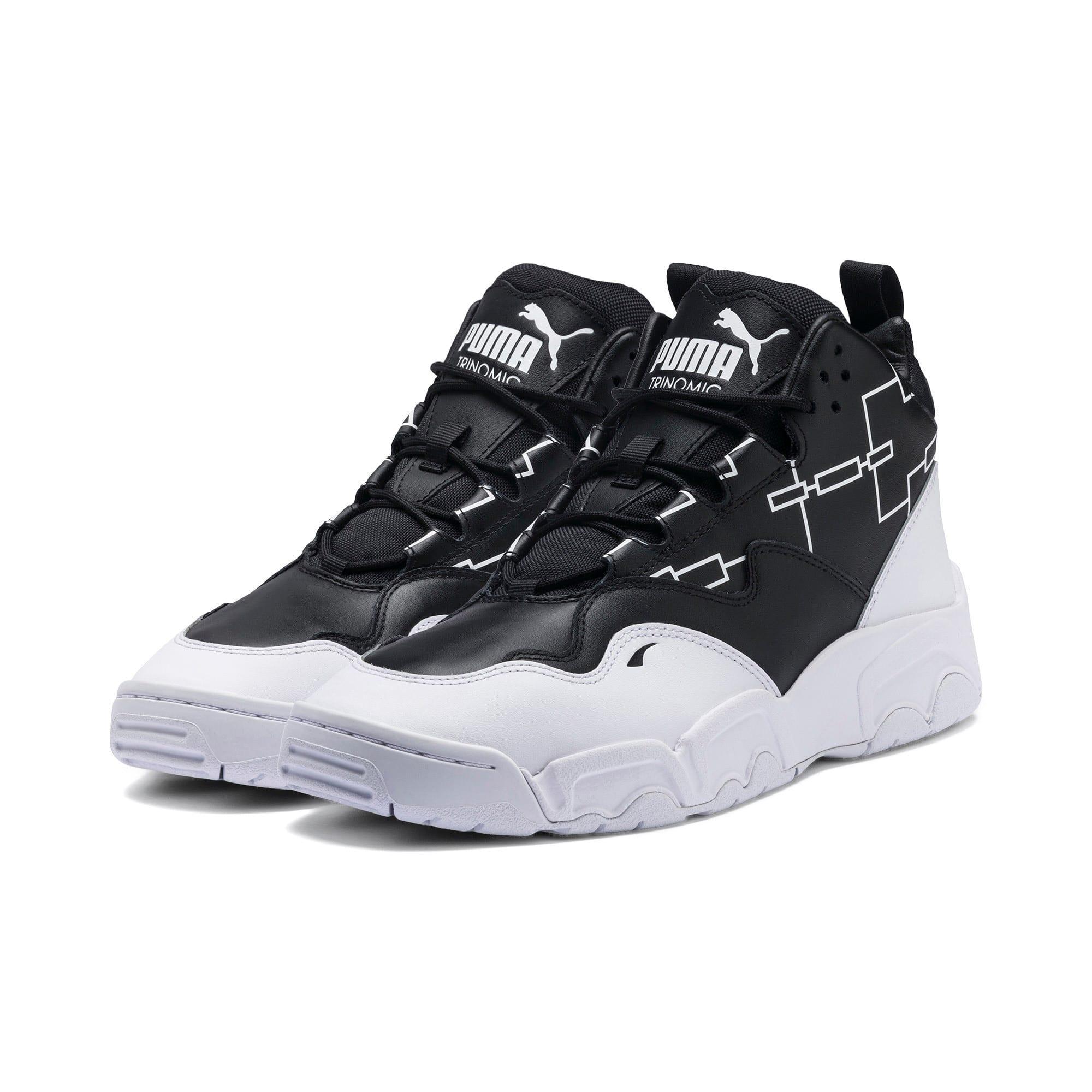 Thumbnail 2 of Source Mid Bracket Sneakers, Puma Black-Puma White, medium