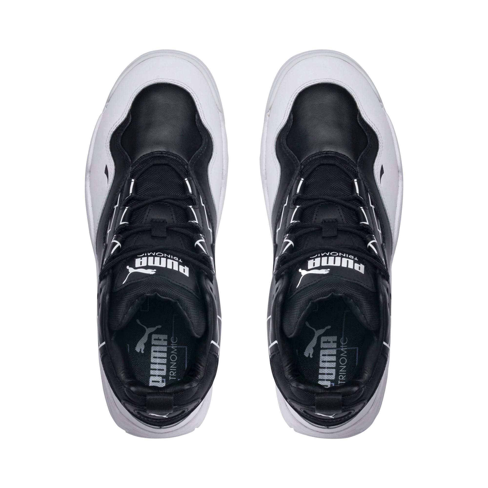 Thumbnail 6 of Source Mid Bracket Sneakers, Puma Black-Puma White, medium
