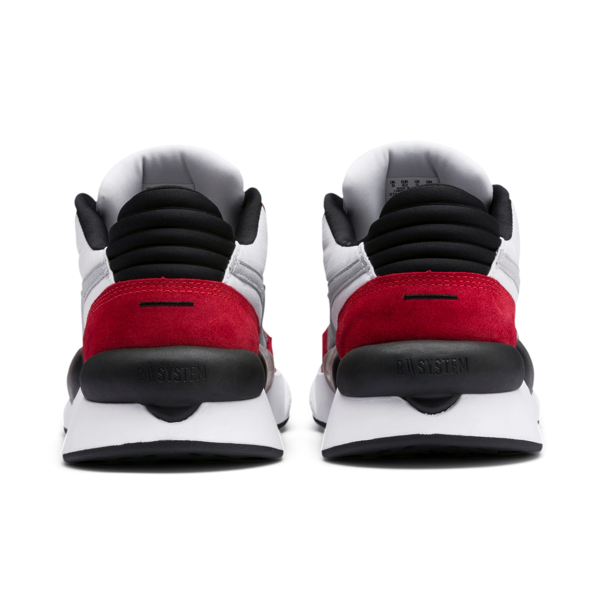 Thumbnail 4 of RS 9.8 Space Sneakers, Puma White-High Risk Red, medium