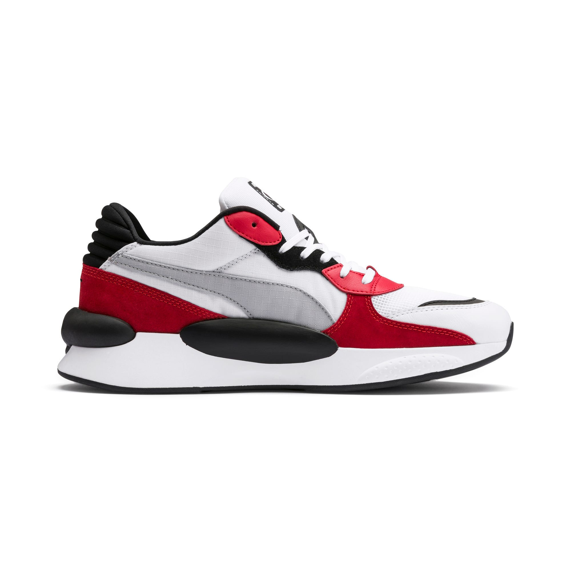 Thumbnail 7 of RS 9.8 Space Trainers, Puma White-High Risk Red, medium-IND