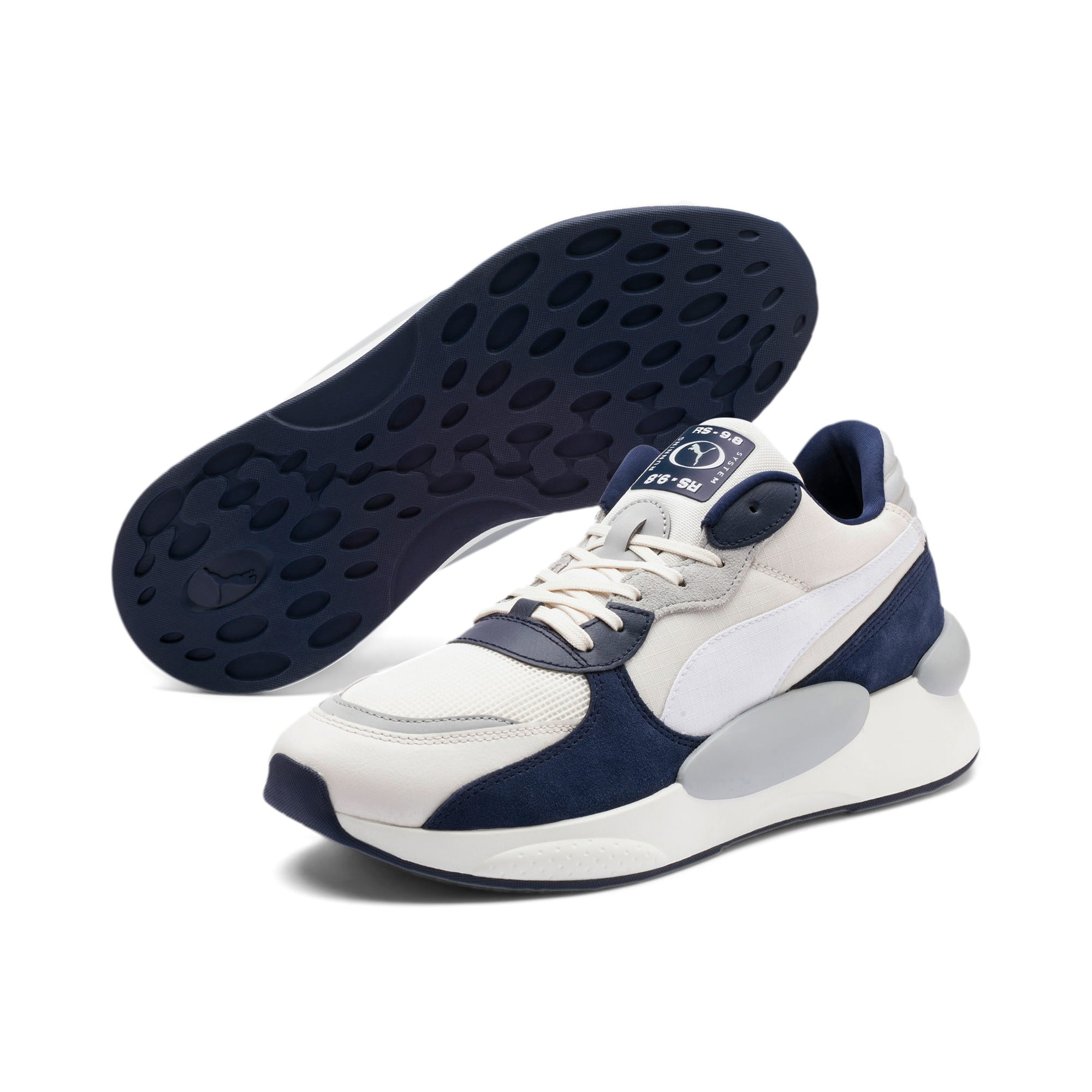Thumbnail 2 of RS 9.8 Space Sneakers, Whisper White-Peacoat, medium