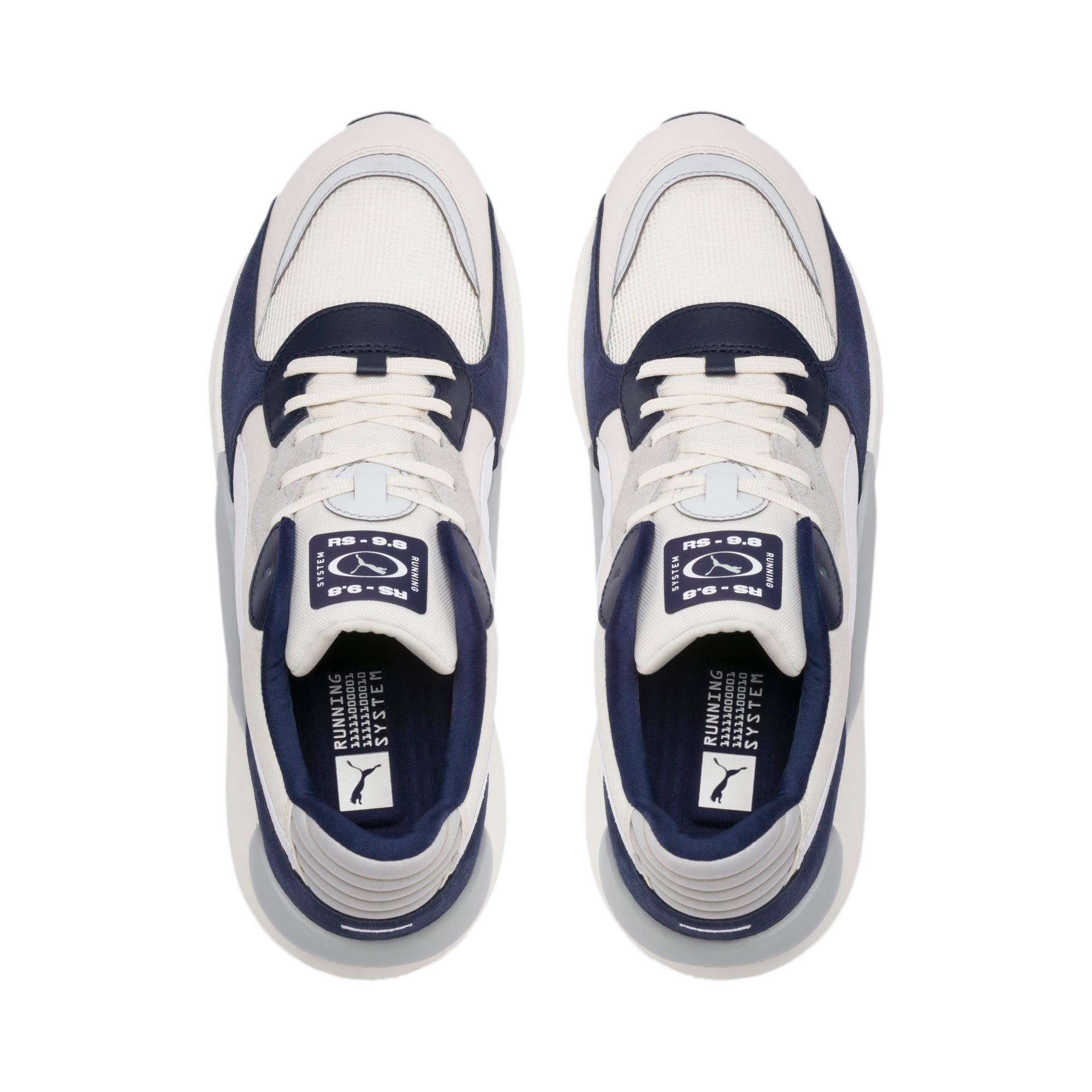 Thumbnail 6 of RS 9.8 Space Sneakers, Whisper White-Peacoat, medium