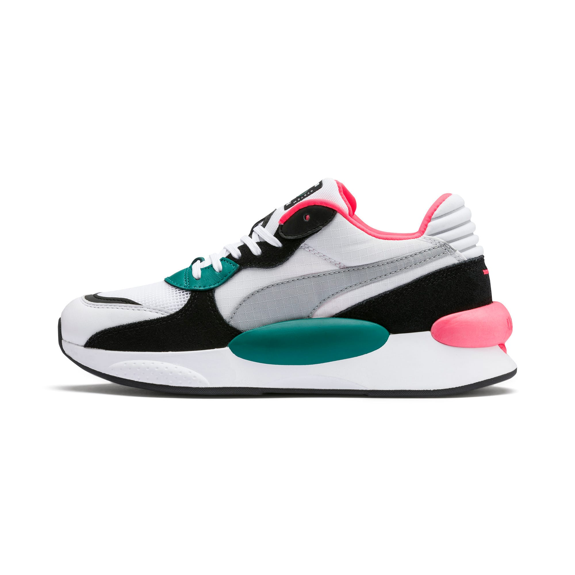 Thumbnail 1 van RS 9.8 Space sportschoenen, Puma White-blauwgroen, medium